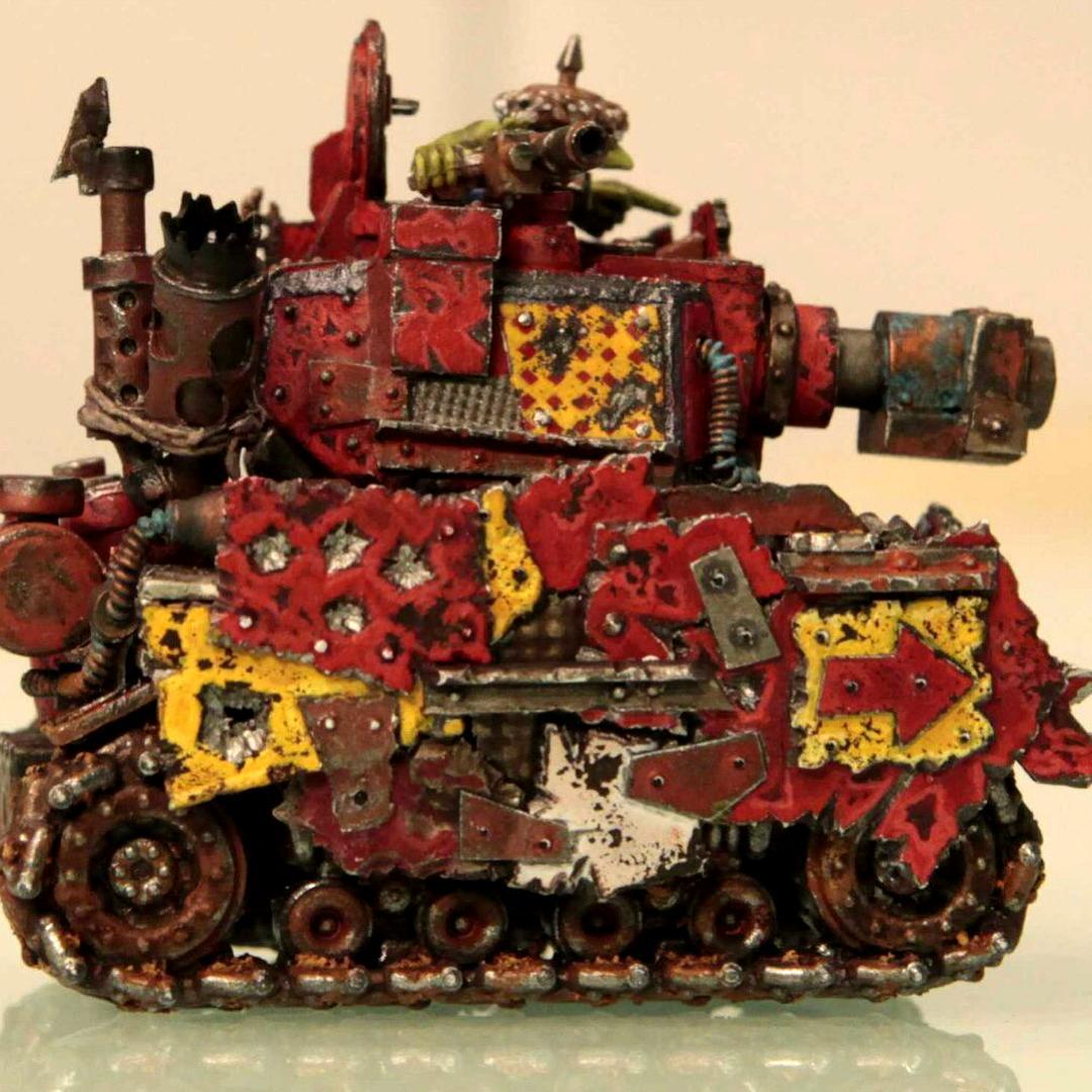 Grot tank #1