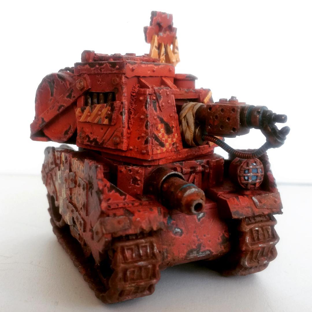 Conversion, Custom, Grot Tank, Grots, Kitbash, Orks, Scratch Build, Warhammer 40,000