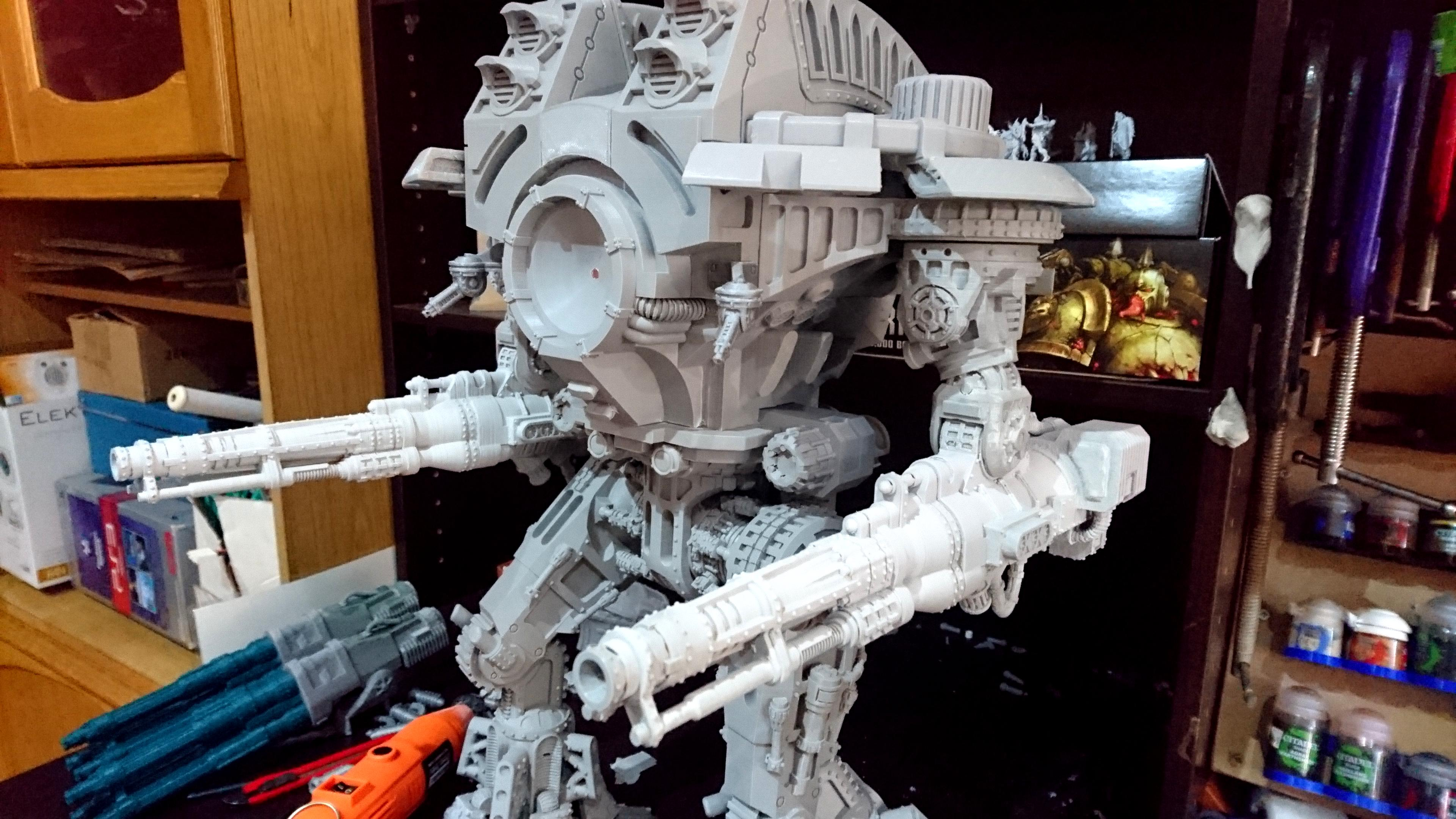 The primed volcano canons