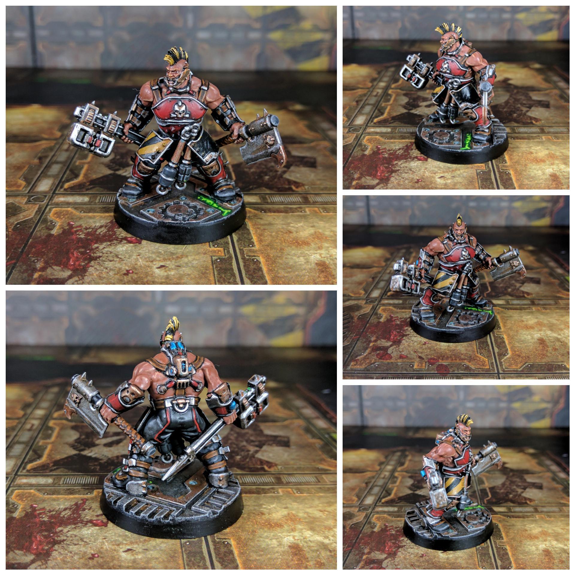 Brute Cleaver, House Goliath, Ironlords, Necromunda, Spud-jacker, Underhive