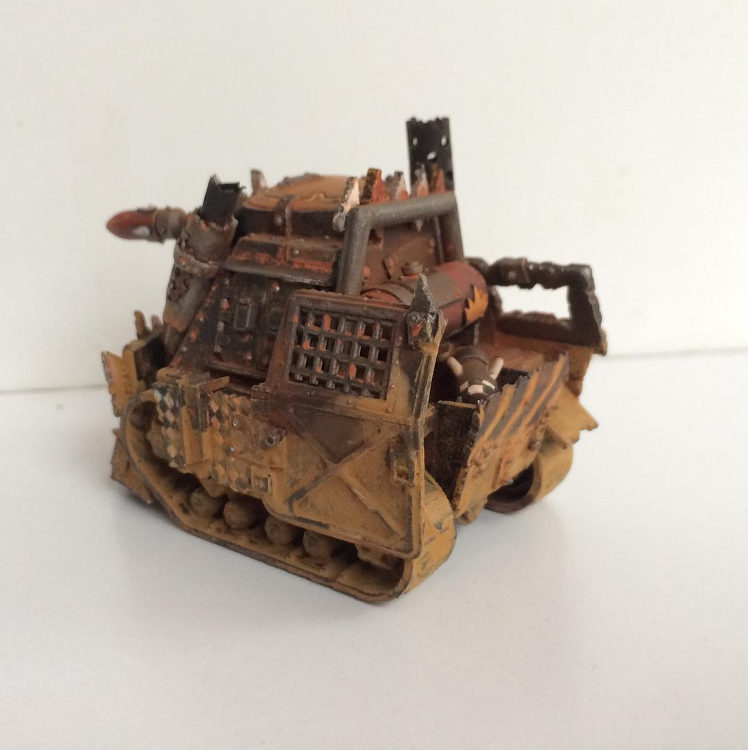 Conversion, Custom, Grot Conversion, Grot Tank, Grots, Kitbash, Orks, Scratch Build, Warhammer 40,000