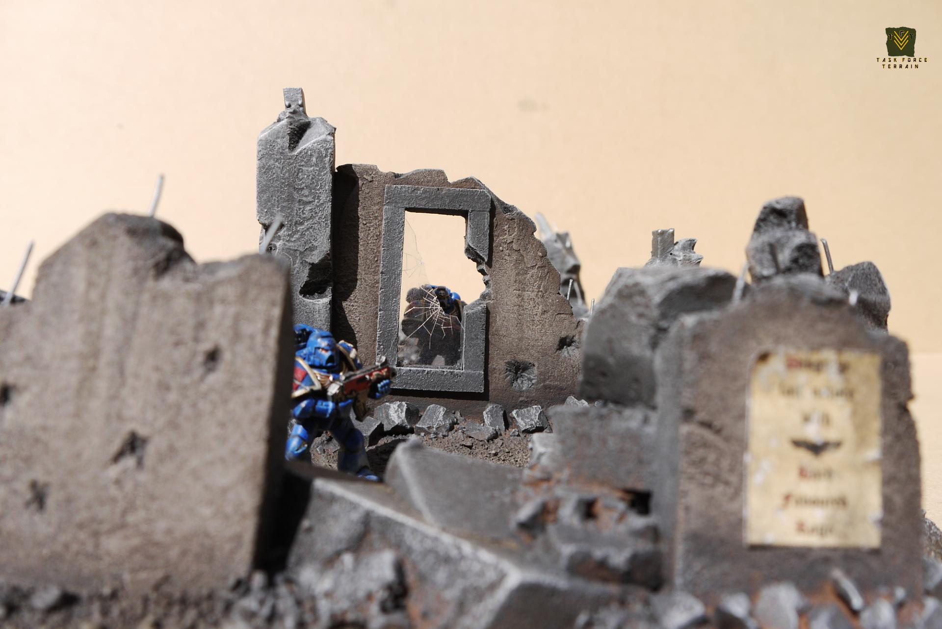 28mm, 28mm Warhammer, Barricade, Buildings, Cities Of Death, City, Force Terrain, Task, Taskforceterrain, Terrain, Urban, Wargames, Wargamesterrain, Warhammer 40,000, Warhammer Fantasy