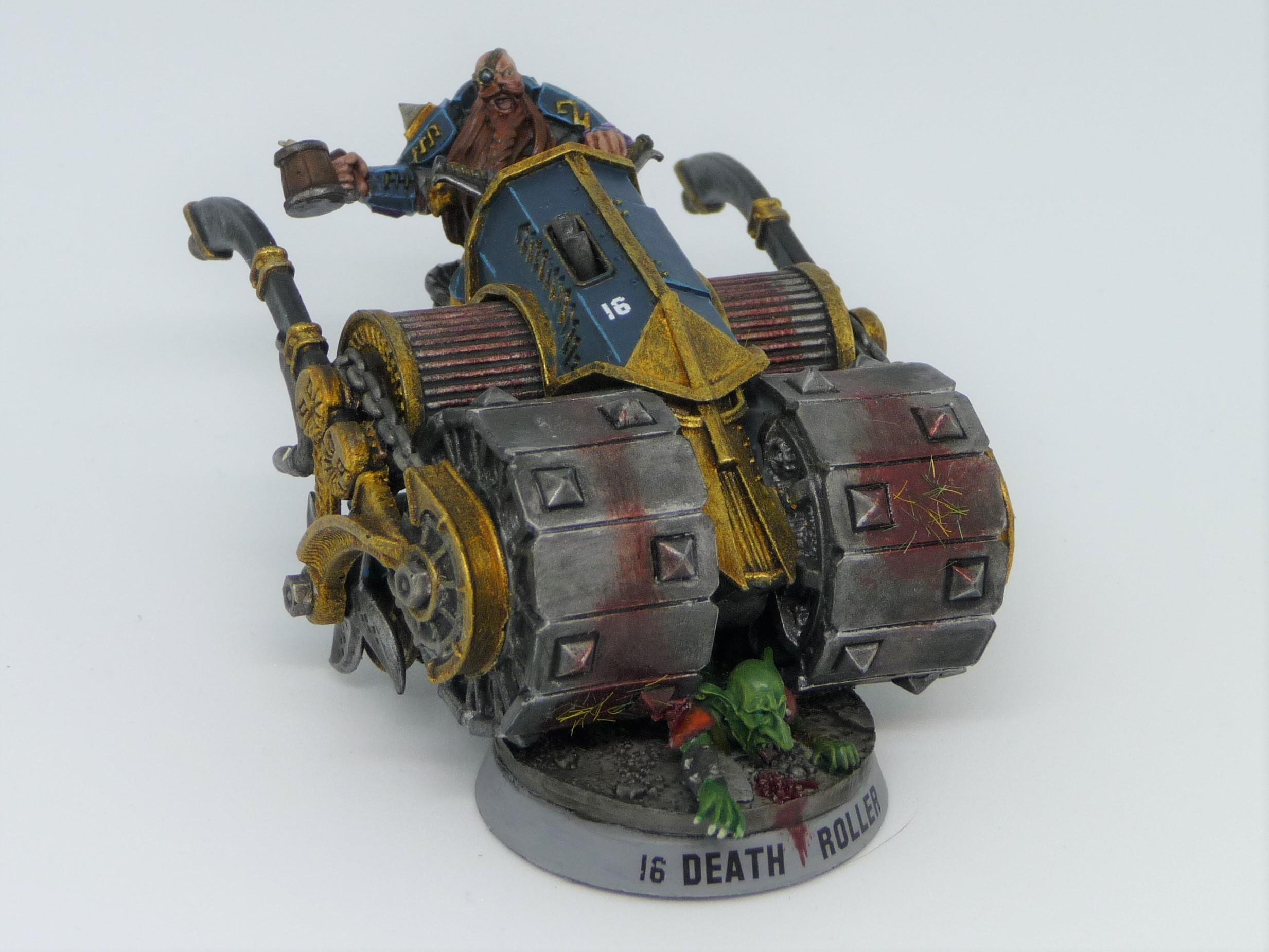 Blood Bowl, Death Roller, Dwarf Giants, Dwarves, Forge World