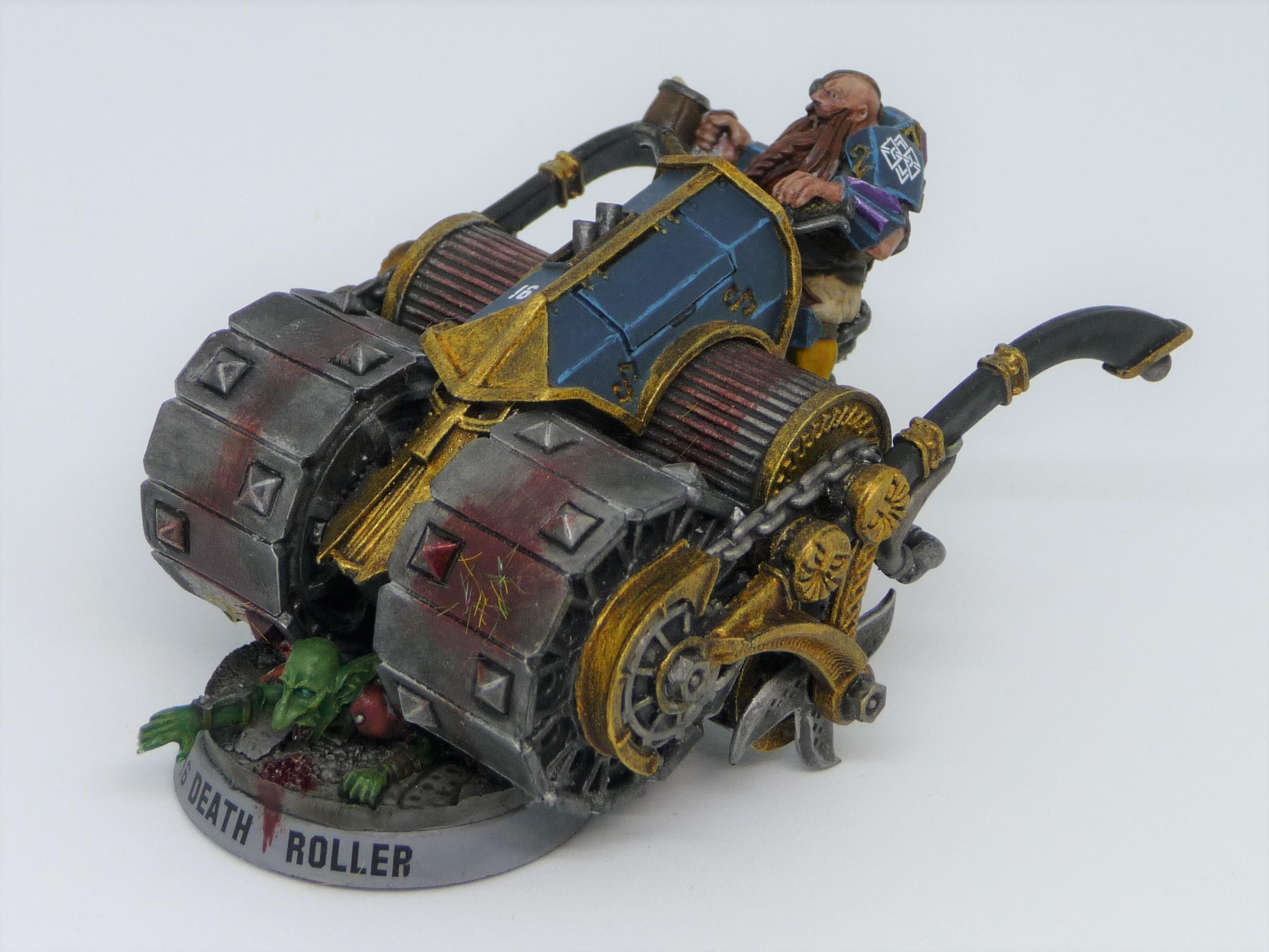 Blood Bowl, Death Roller, Dwarf Giants, Dwarves, Forge World