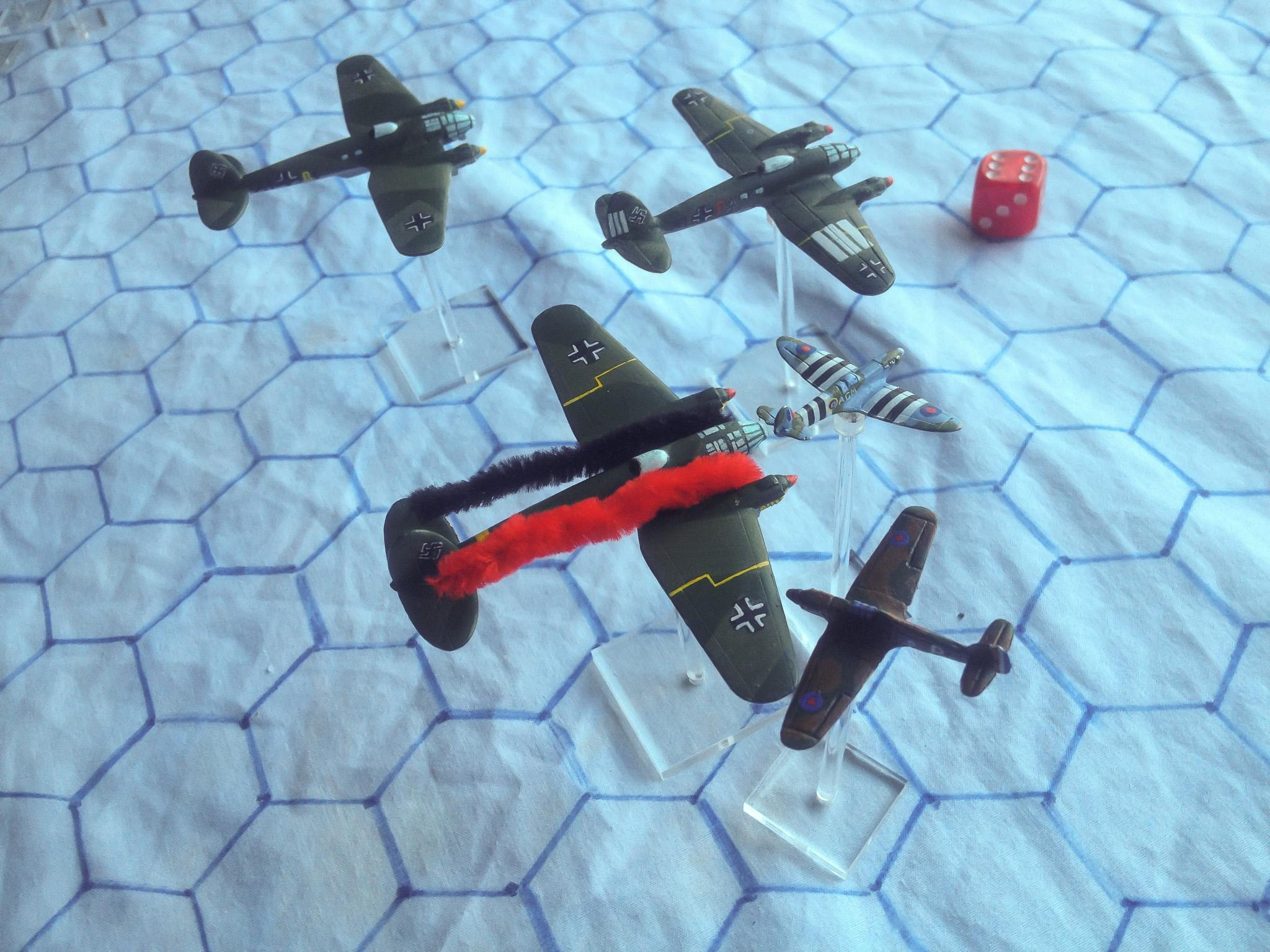 1:300 Scale, Air Combat, Battle Of Britain, World War 2