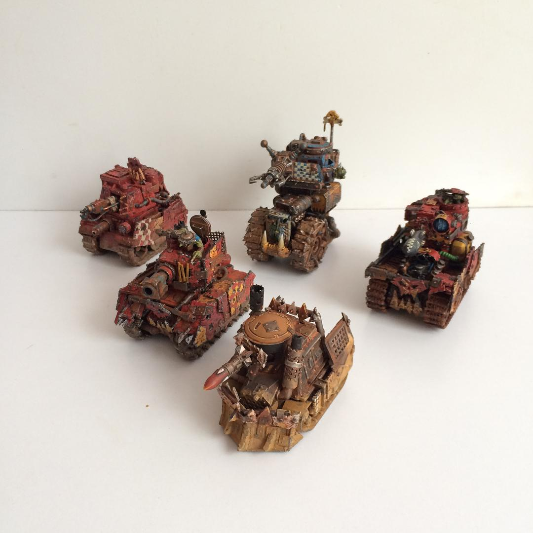 Conversion, Custom, Grot Tank, Grots, Kitbash, Orks, Scratch Build, Warhammer 40,000