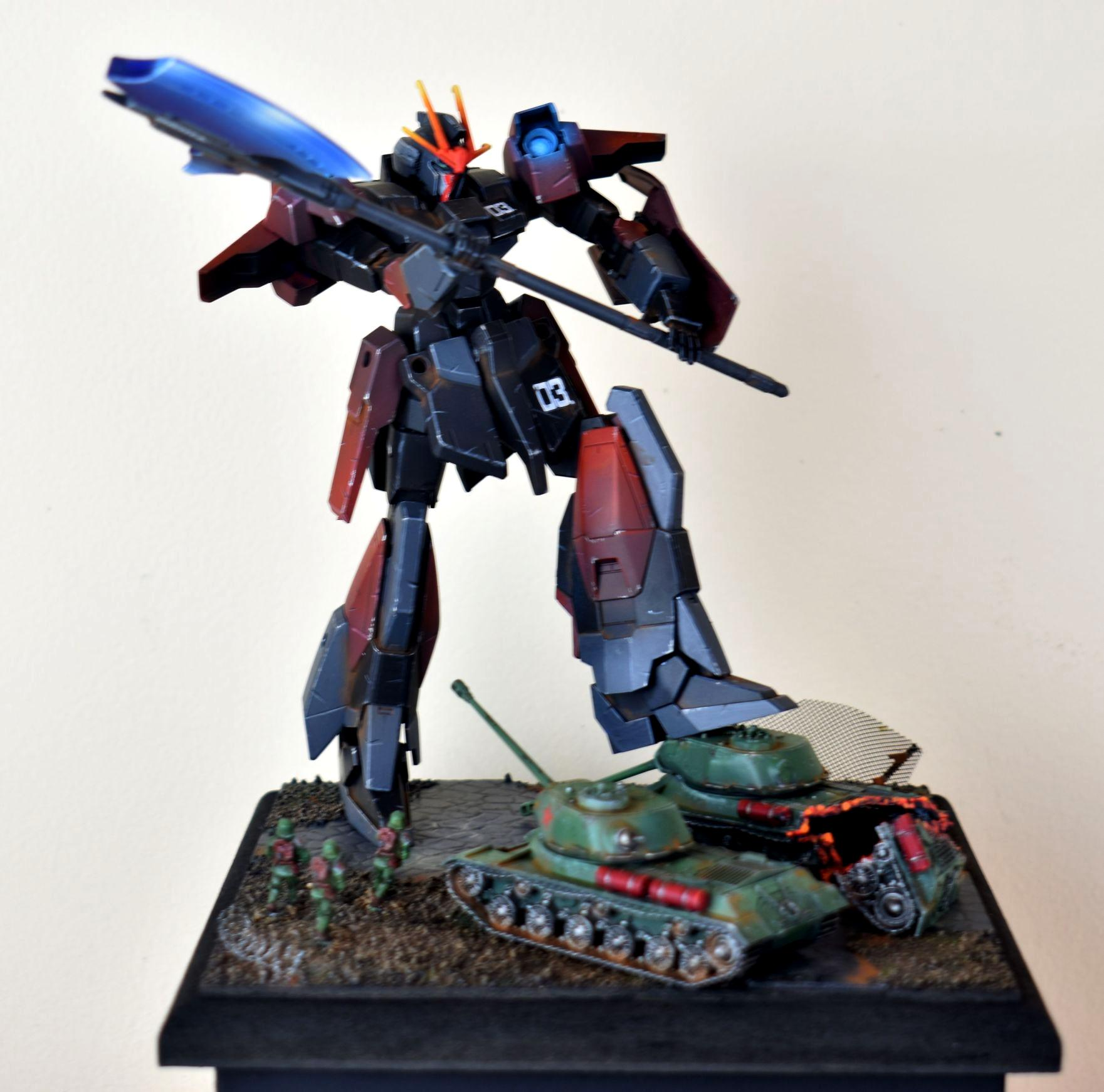 Diorama, Gundam, Object Source Lighting