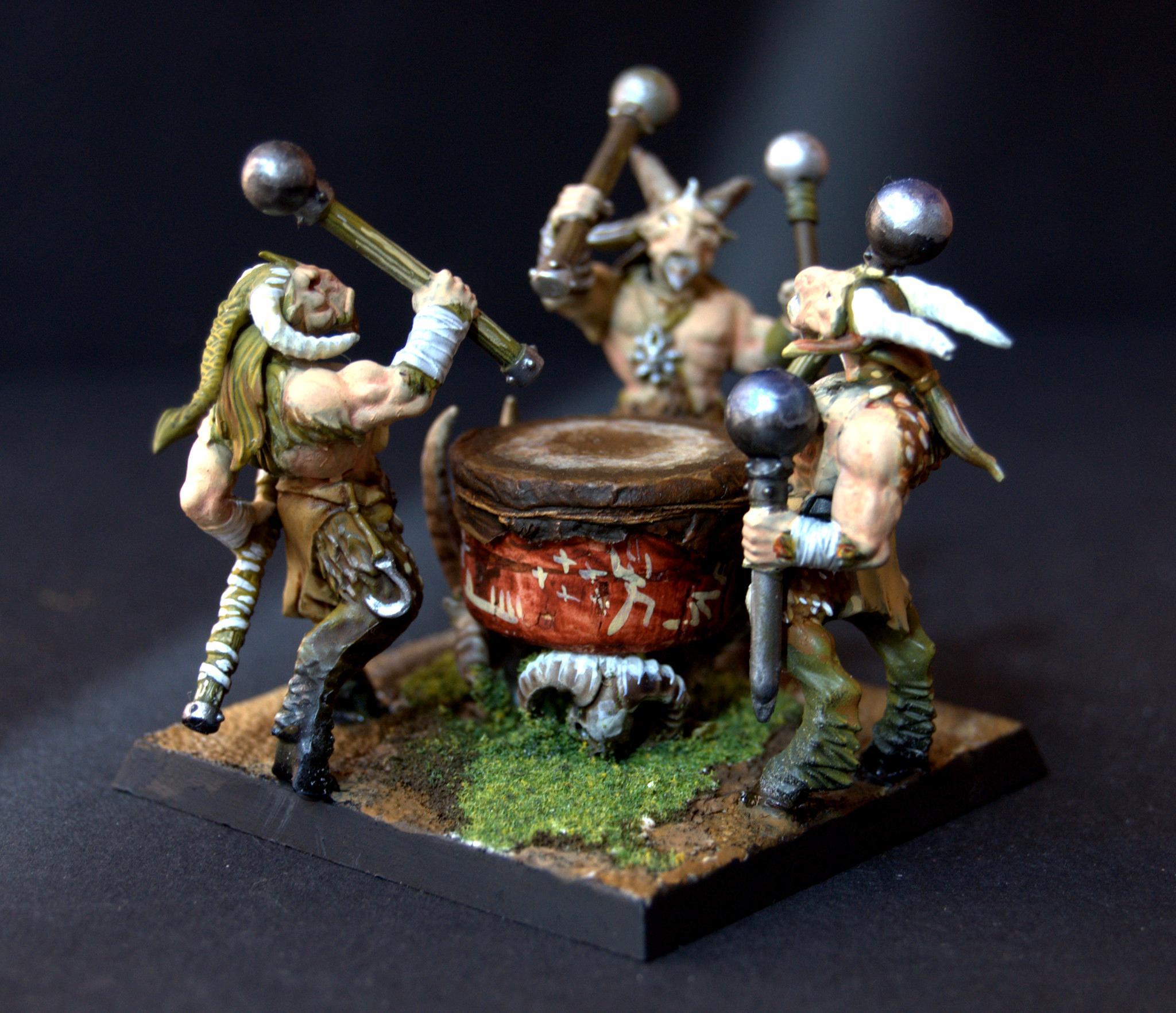 Beastmen, Unit Filler, War Drum