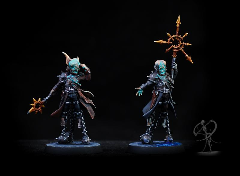 Blackstone Fortress, Chaos, Non-Metallic Metal, Object Source Lighting, Science-fiction, Servants Of The Abyss, Warhammer 40,000