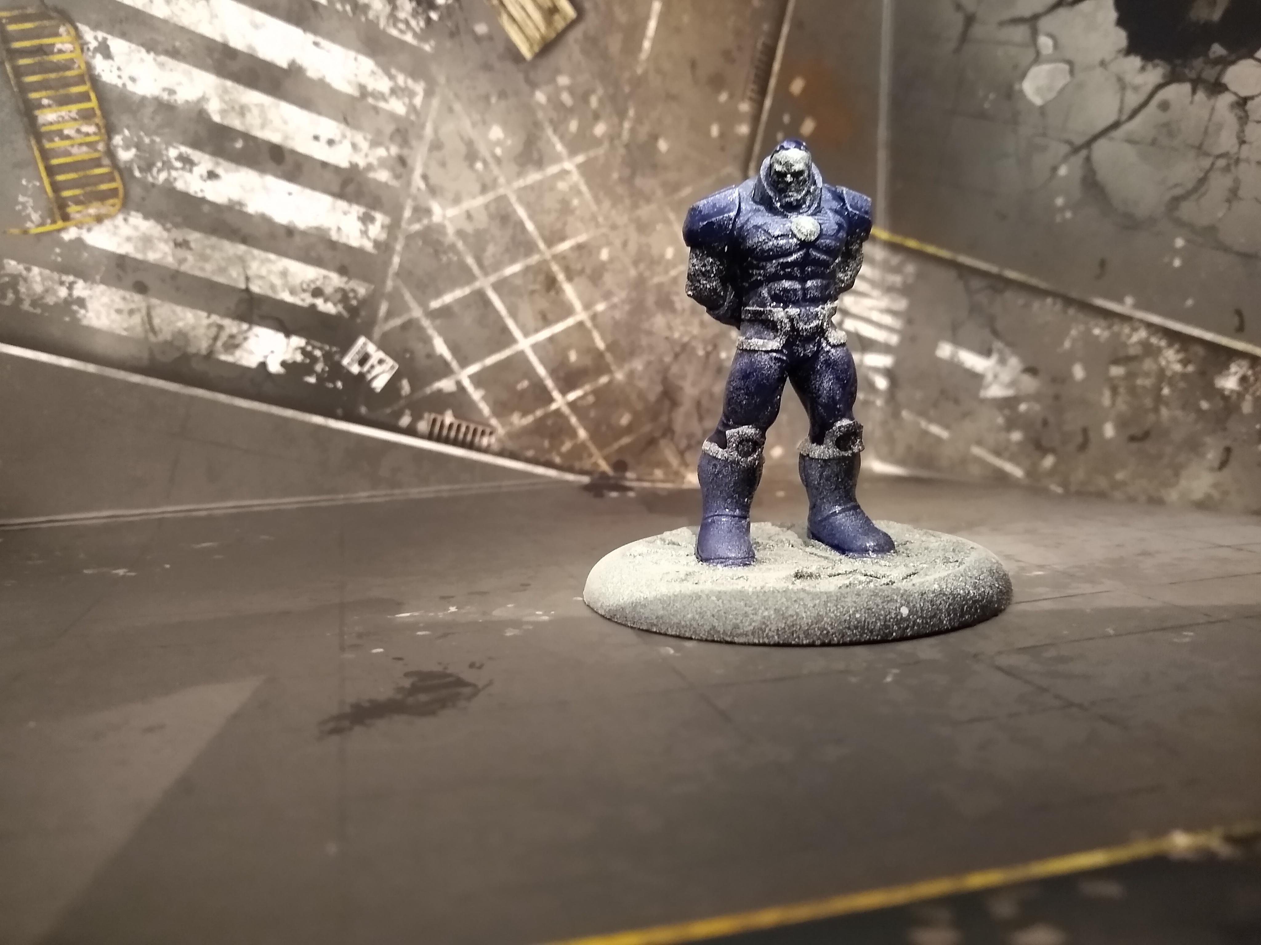 Darkseid is a smurf