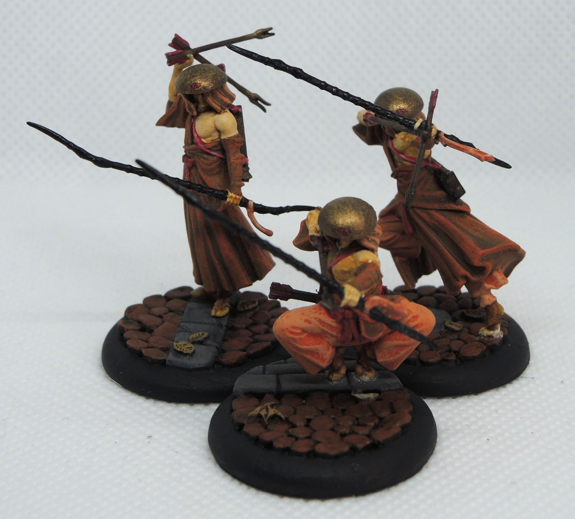 Last Blossom, Malifaux, Monk, Ten Thunders