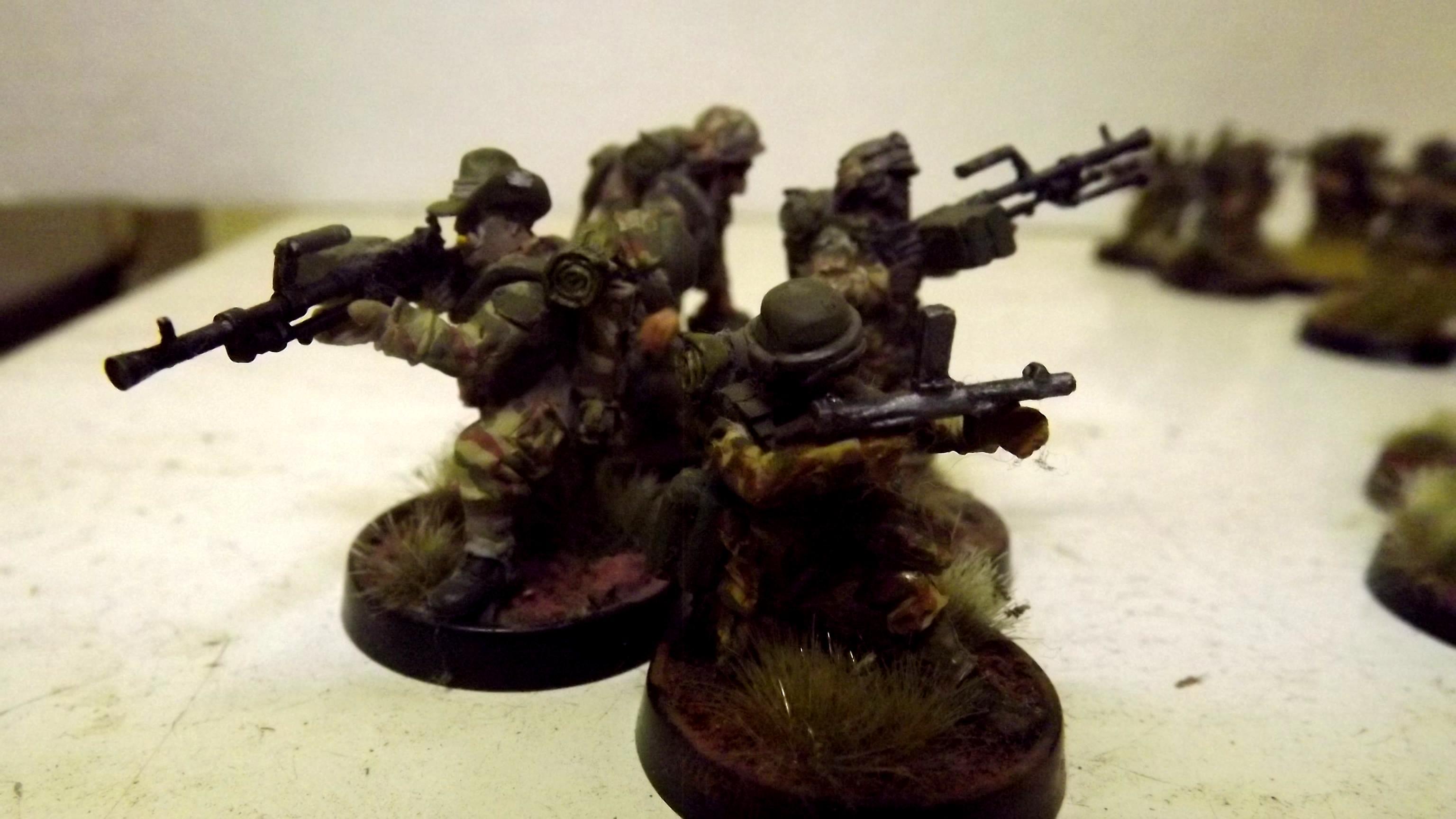 Female Guardsman, Guardsmen, Imperial Guard, Machineguns, Suppression, Victoria Miniatures