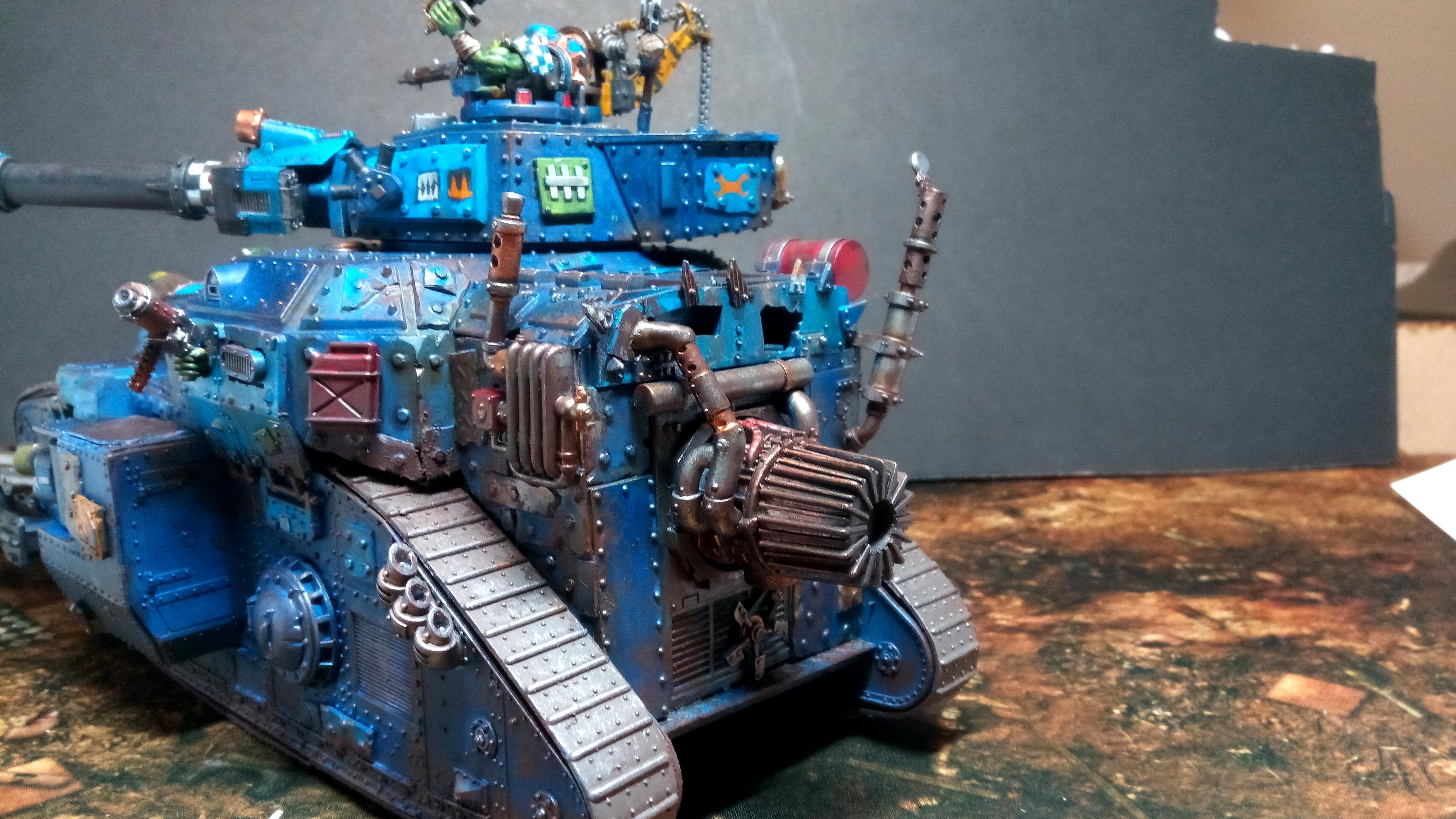 Conversion, Kill Tank, Looted, Lord Of War, Orks, Super-heavy, Tank