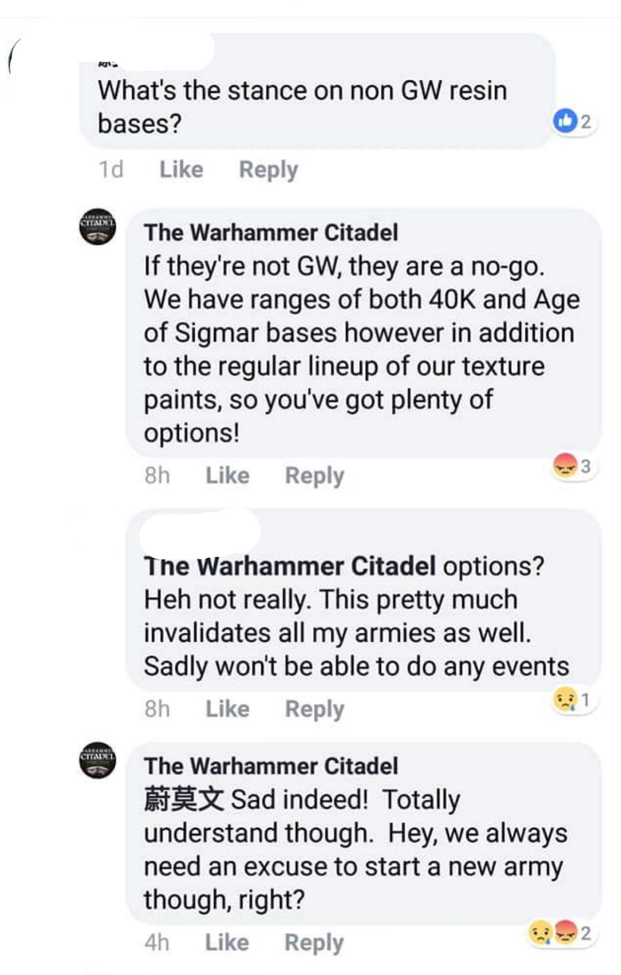 GW Bans Third Party Bases