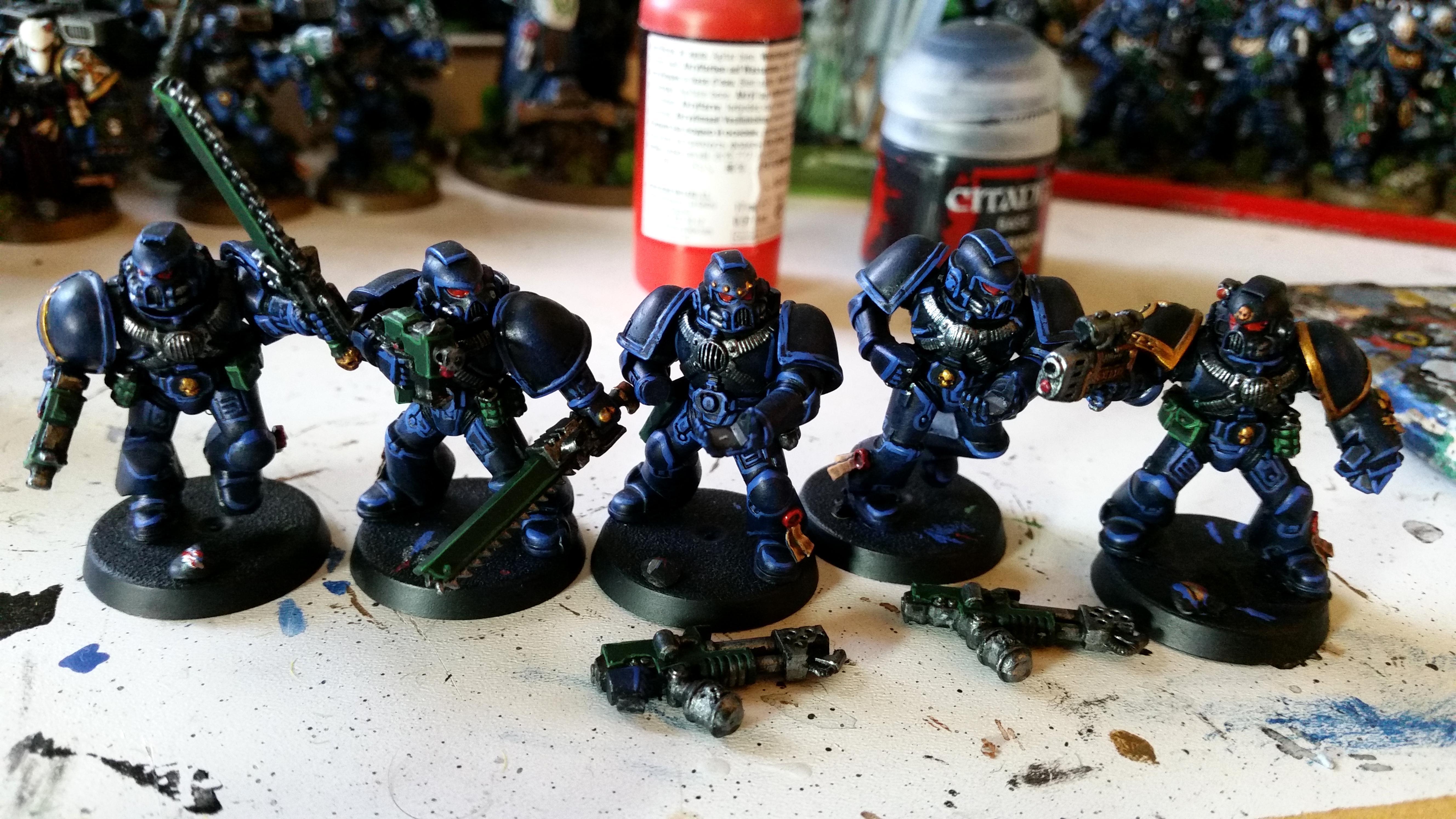 Assault Marines, Space Marines, Ultramarines