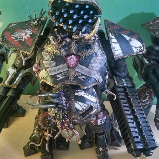 Chaos Titan, Deamon Engine, Legio Mortis, Reaver, Rever Titans Of Legio Mortis Nurgle, Titan Close Combat