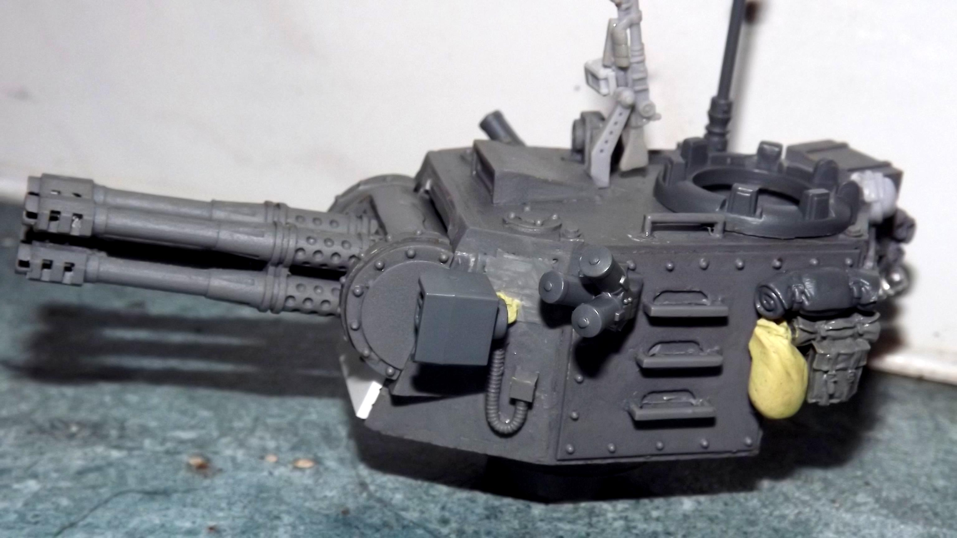 Aa Mount, Blood And Skulls, Chimerax, Kv2, Machinegun, Stowage, Work In Progress