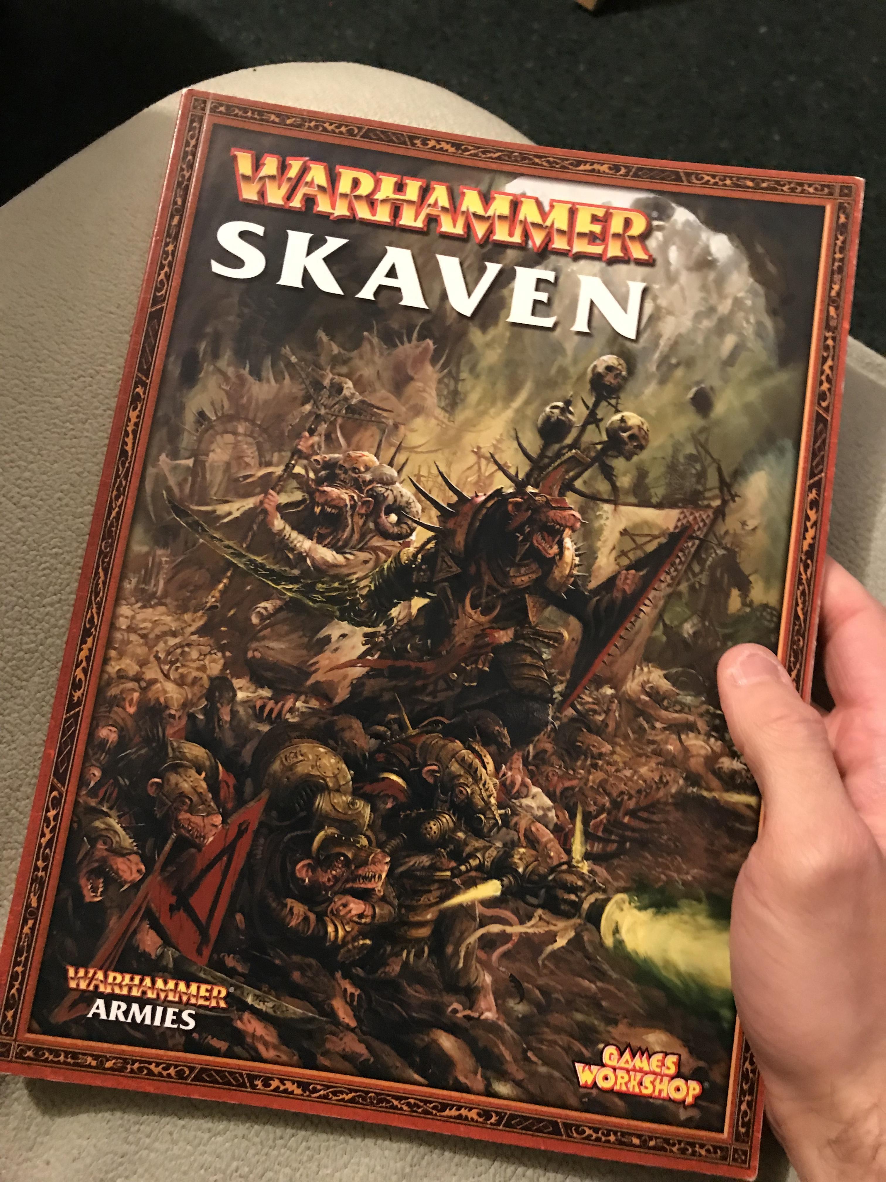 7th, Army, Artwork, Battle, Book, Edition, Skaven, Warhammer Fantasy