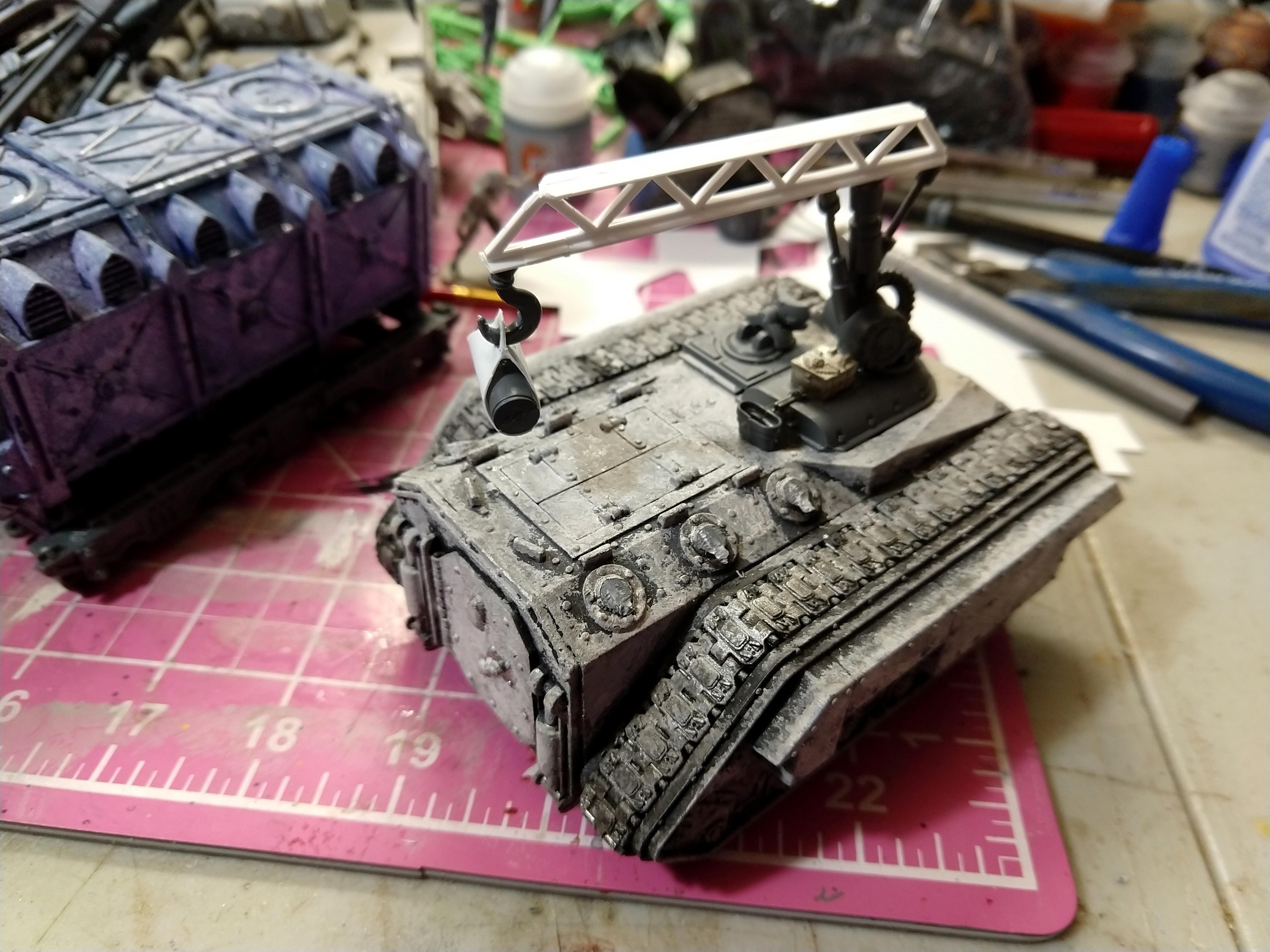 Kitbash, Trojan, Trojan Support Vehicle