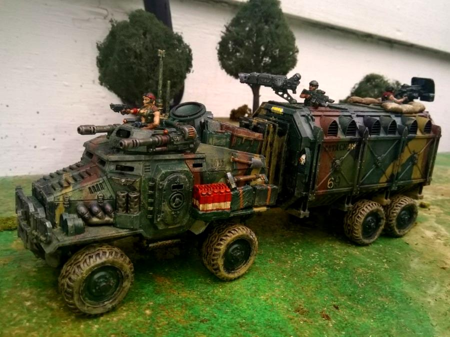 Apc, Canyonero, Catachan, Imperial Guard, Kitbash, Road-train