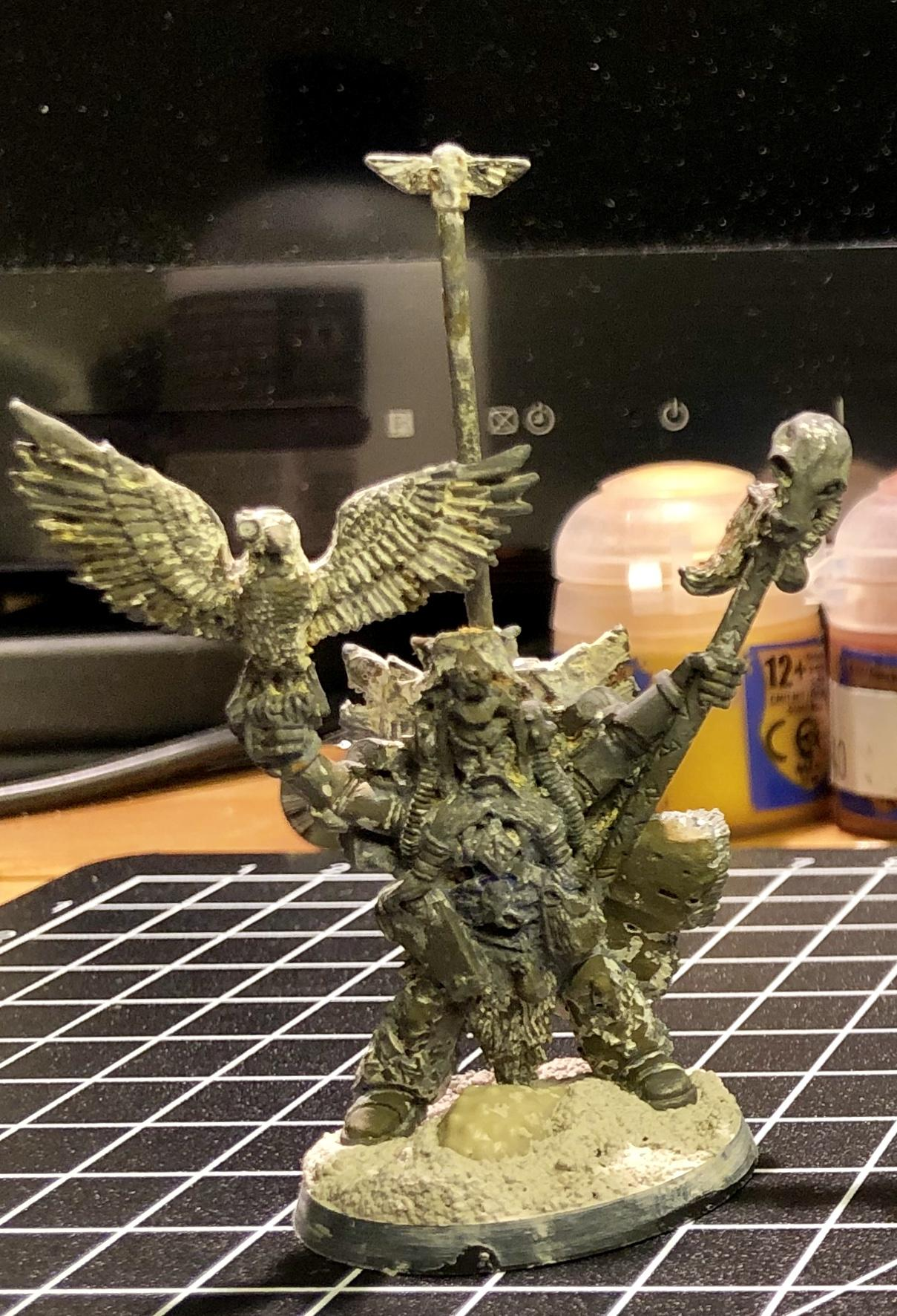 2nd Edition, Njal Stormcaller, Space Marines, Space Wolves