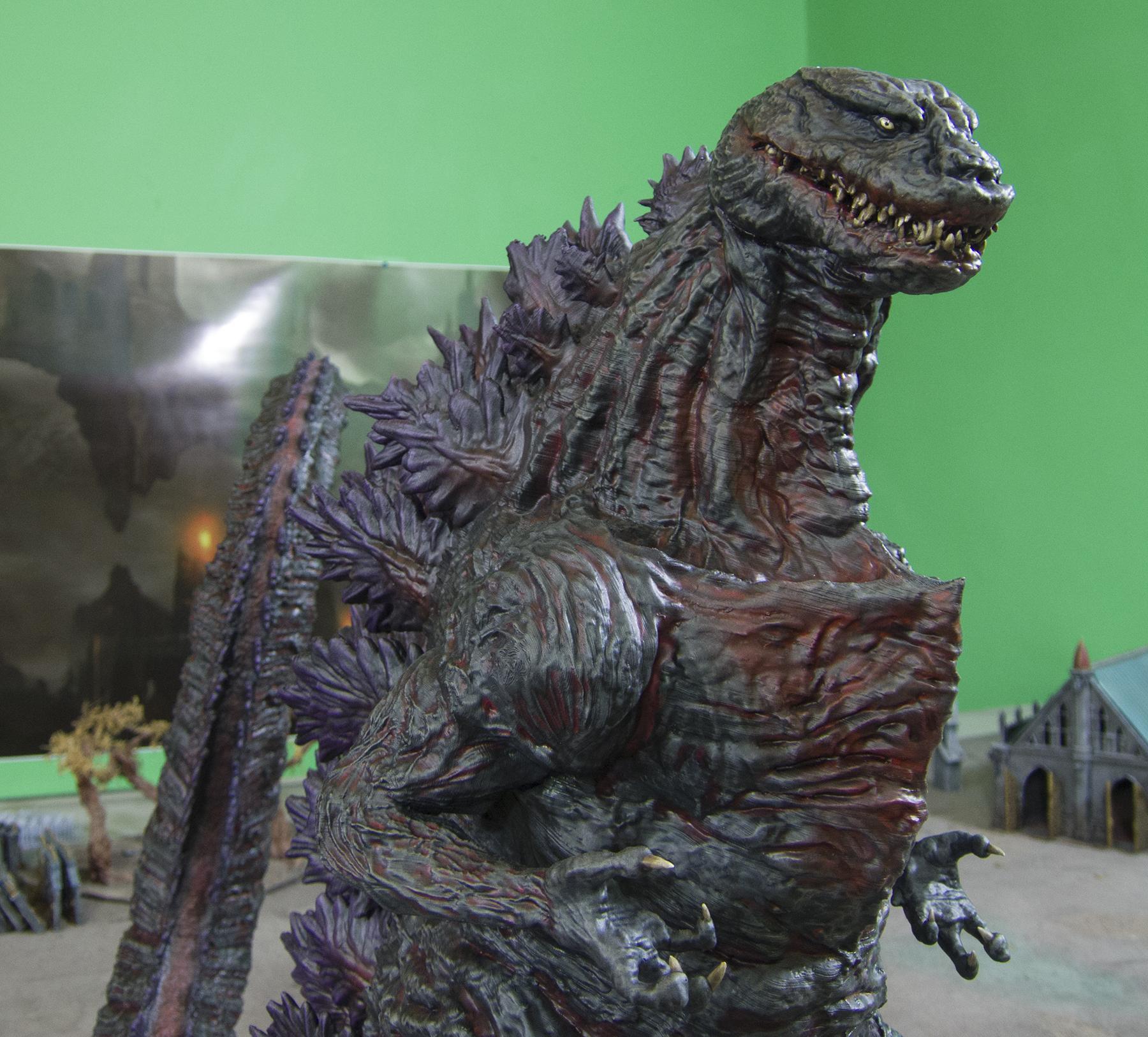 3d Printing, Anycubic I3 Mega, Anycubic Photon, Dlp, Fdm, Gambody, Godzilla, Large, Shin Godzilla