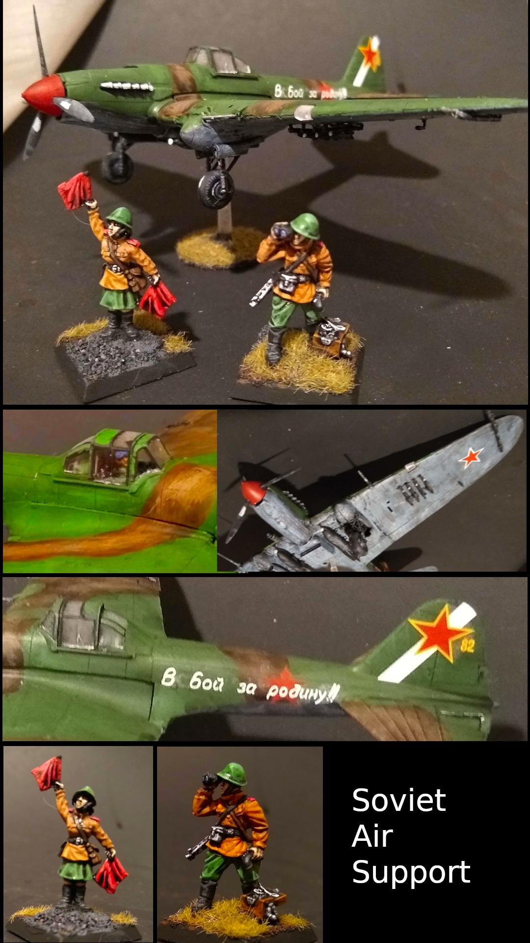 Bolt Action, Foward Air Observers, Il-2, Soviet