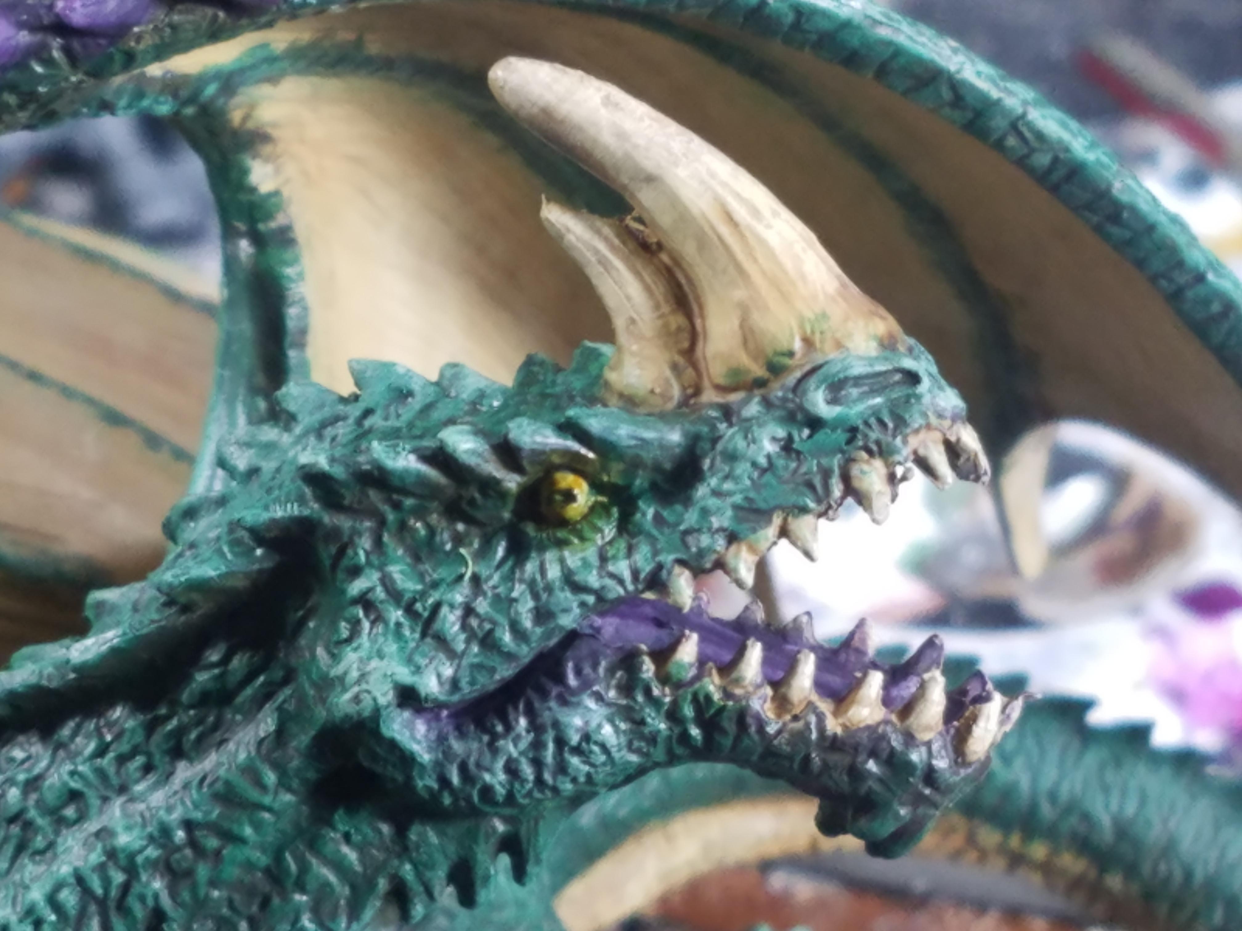 Dakka Painting Challenge 2019, Deep Cuts, Dragon, Dungeons And Dragons, Green Dragon, Pathfinders