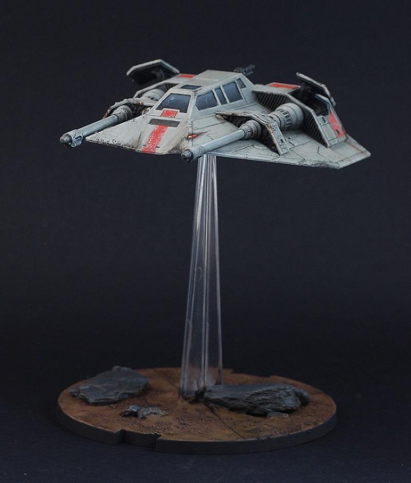 Snowspeeder, Star Wars, Star Wars Legion, T-47