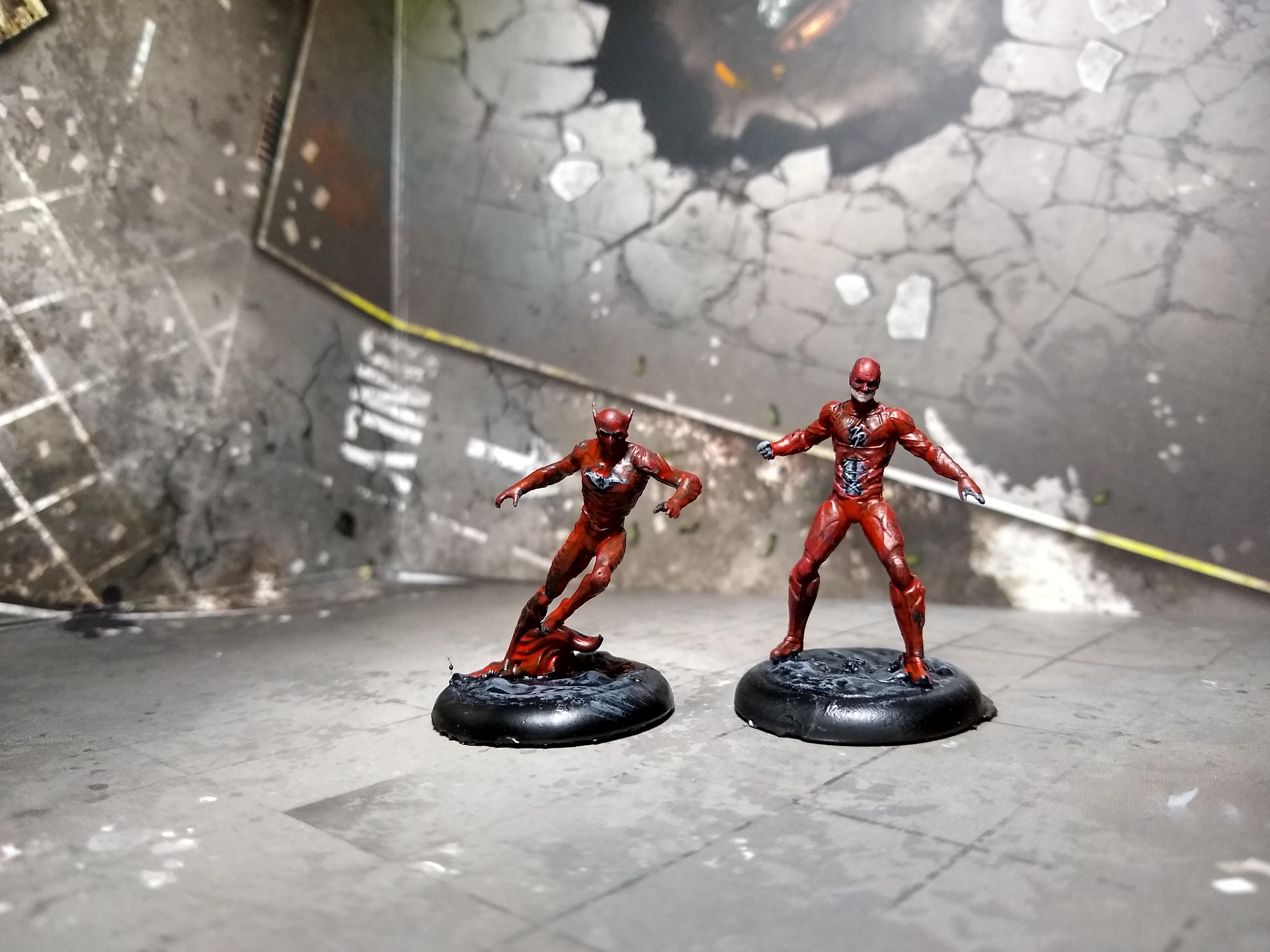 Red death and Ezra WIP