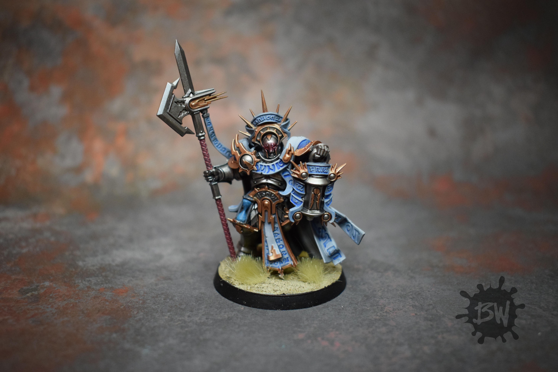 Age Of Sigmar, Bw, Lord-castellant, Order, Stormcast, Warhammer Fantasy