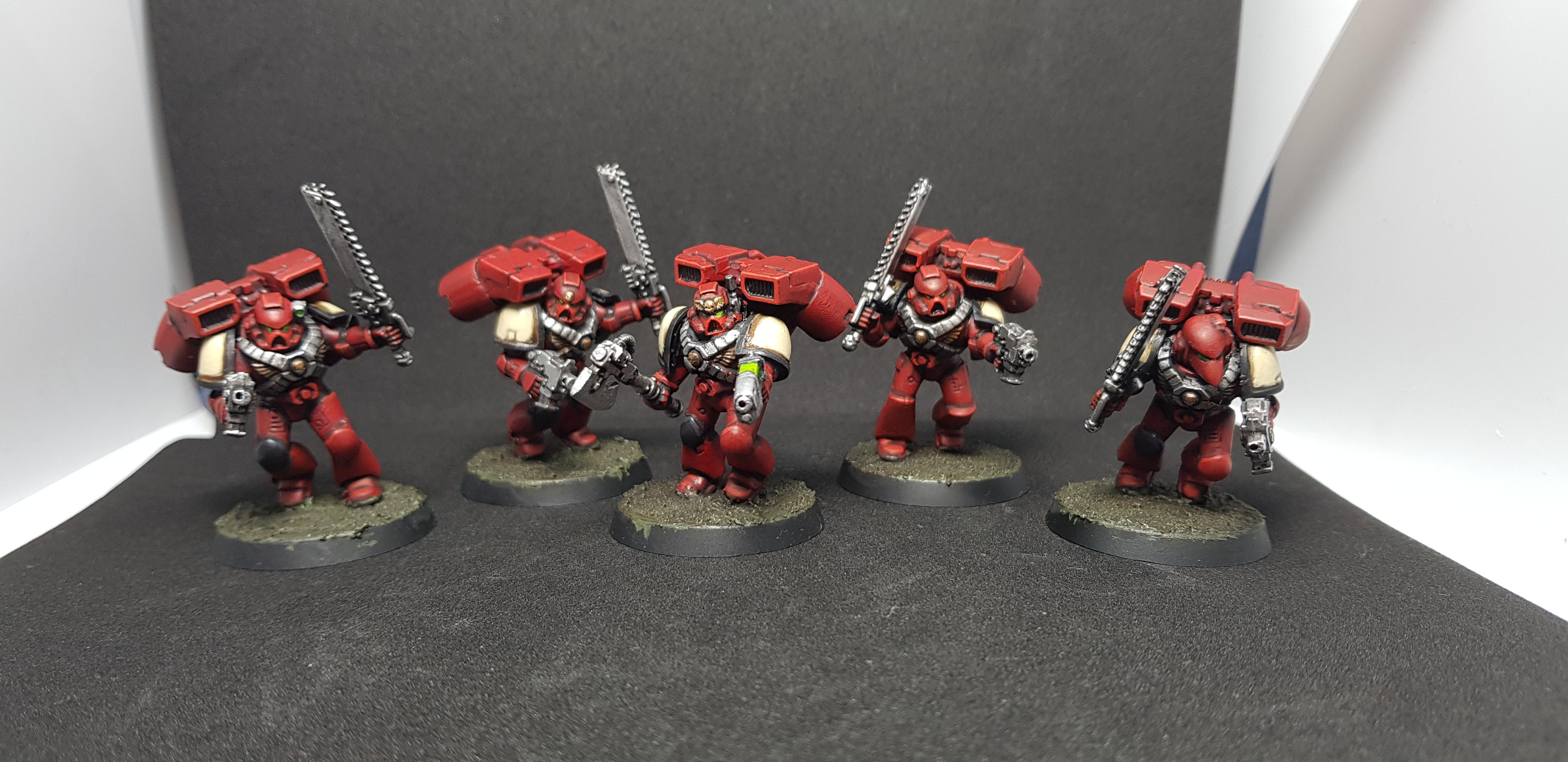 Assault Squad, Blood Ravens, Deadshot, Space Marines