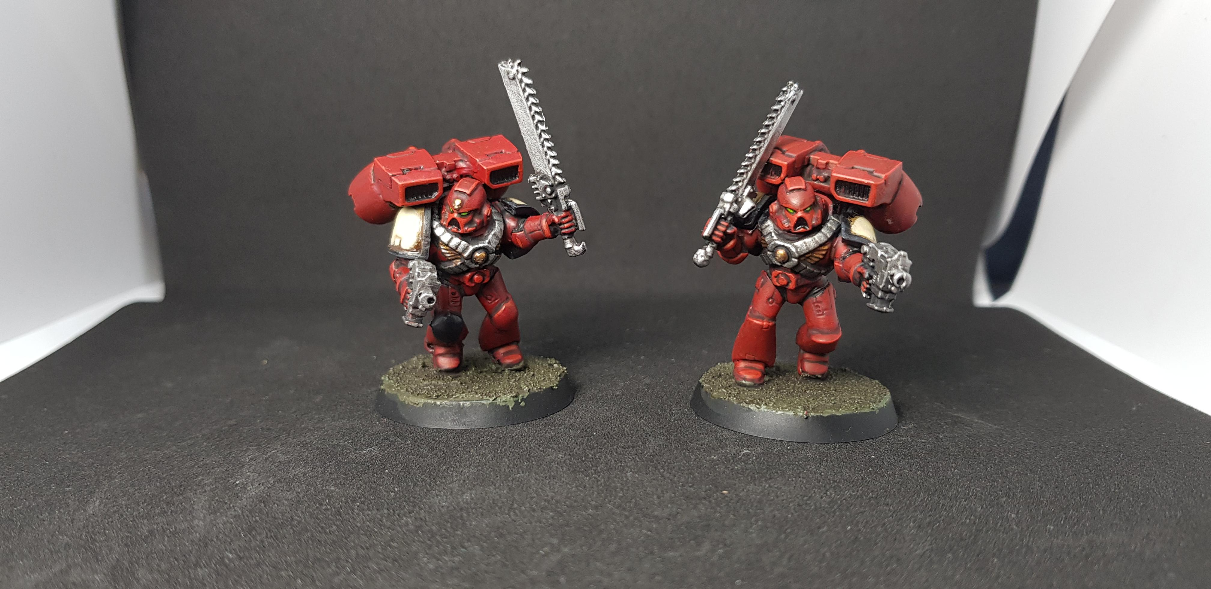 Assault Squad, Blood Ravens, Deadshot, Space Marines