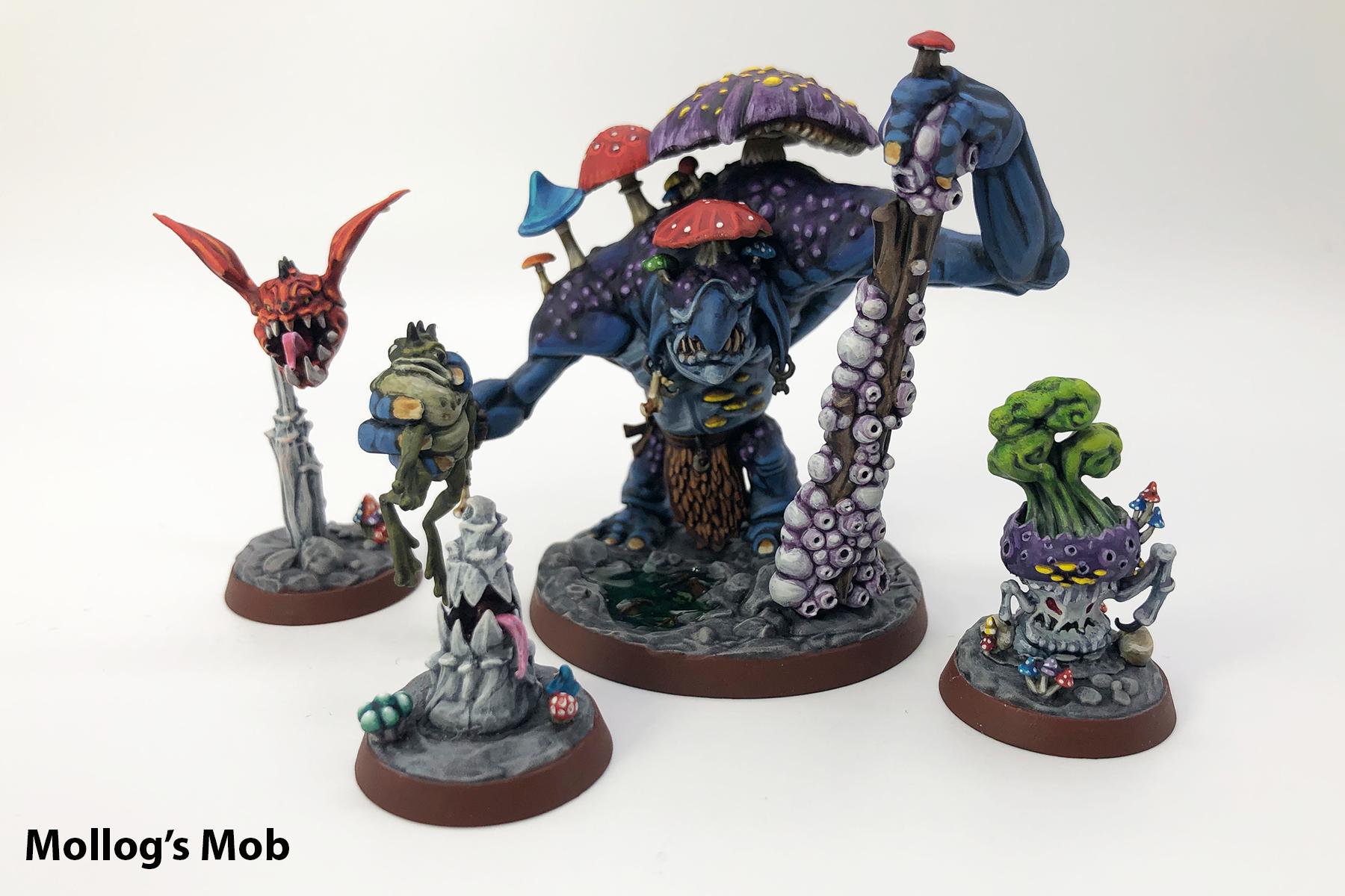 Mollogs Mob, Nightvault, Warhammer Underworlds