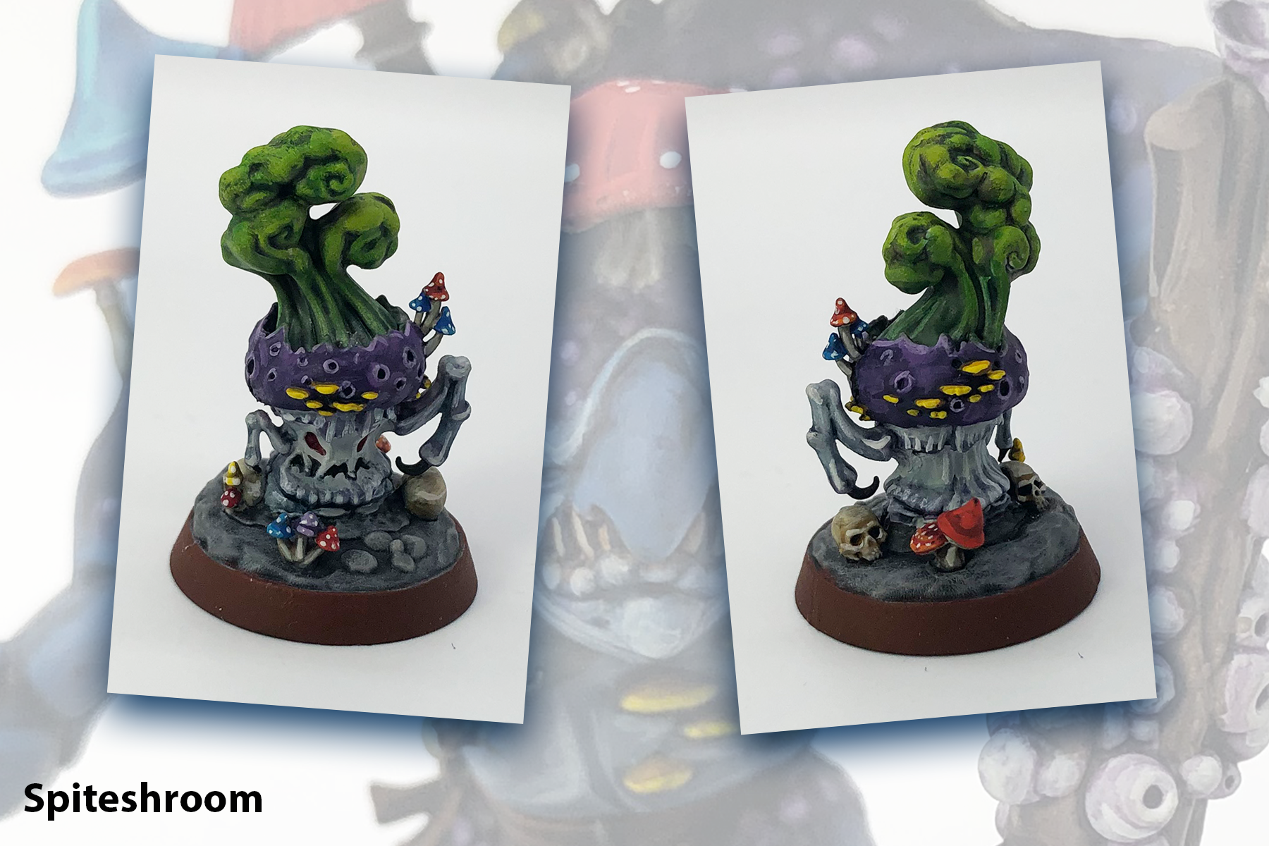 Mollogs Mob, Nightvault, Spiteshroom, Warhammer Underworlds