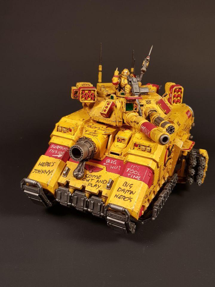 Angry Space Marines, Predator, Space Marines, Warhammer 40,000