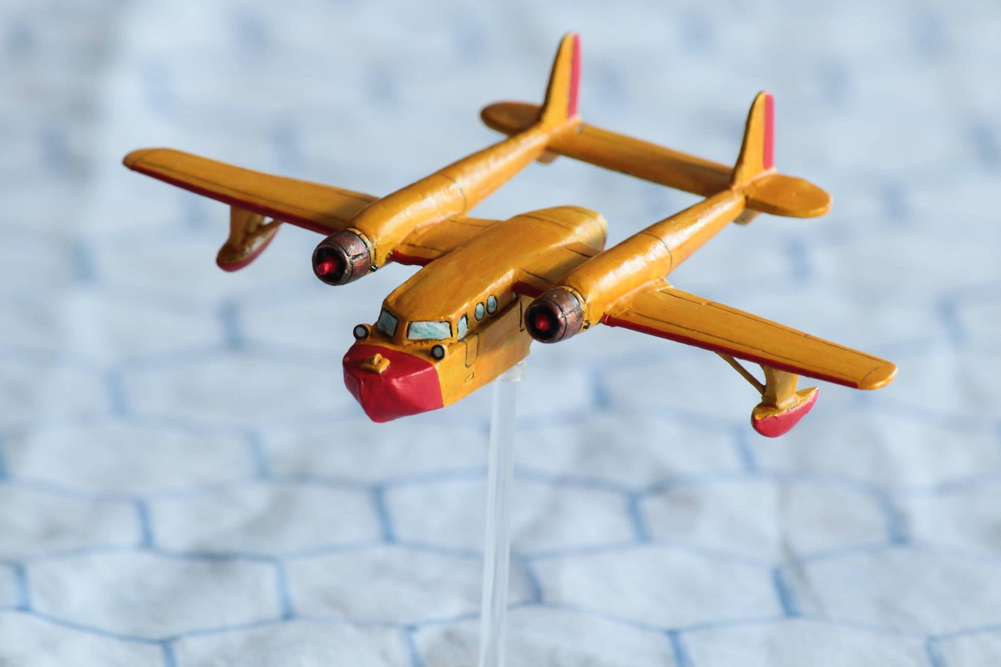 1:300 Scale, 6mm Scale, Air Combat, Airplane, Cartoon, Disney, Flying Boat, Sea Duck, Seaplane, Talespin, World War 2