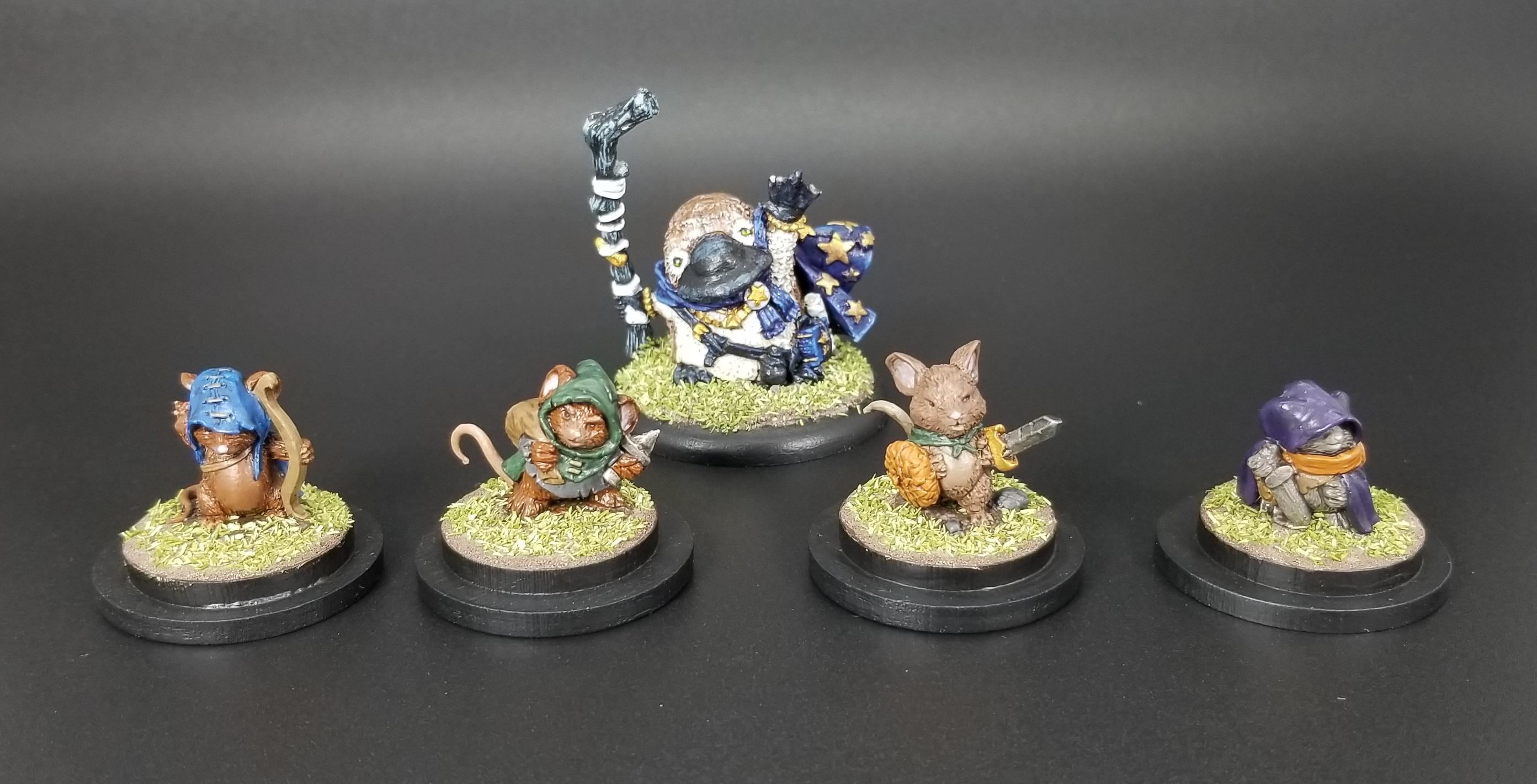 Anthropomorphic, Burrows And Badgers, Mouslings, Platypus, Redwall, Wizard