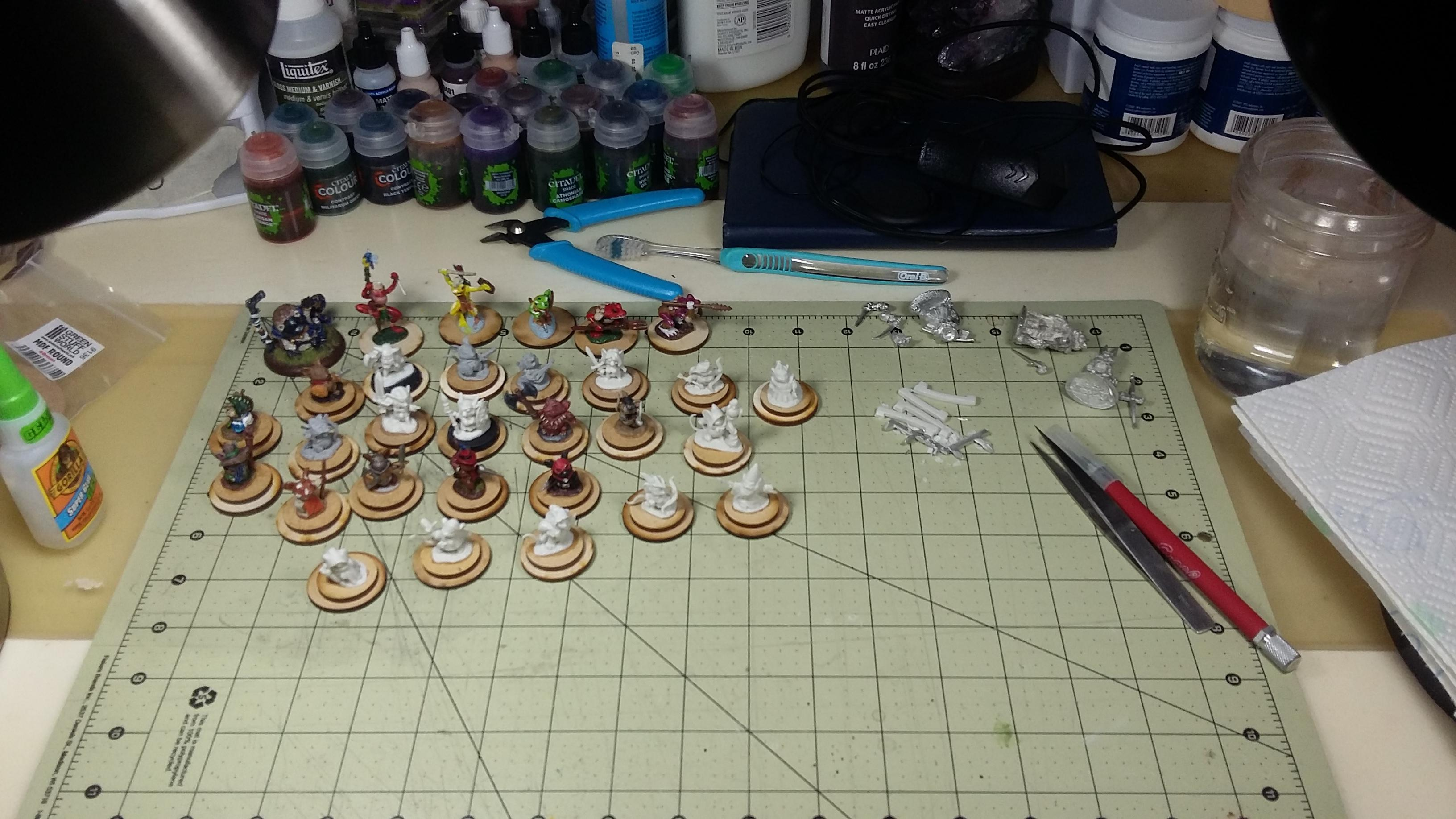 Anthropomorphic, Burrows And Badgers, Redwall, Work In Progress