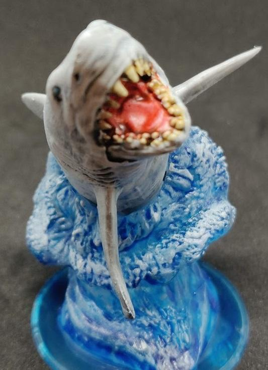 Dungeons And Dragons, Great White Shark, Shark
