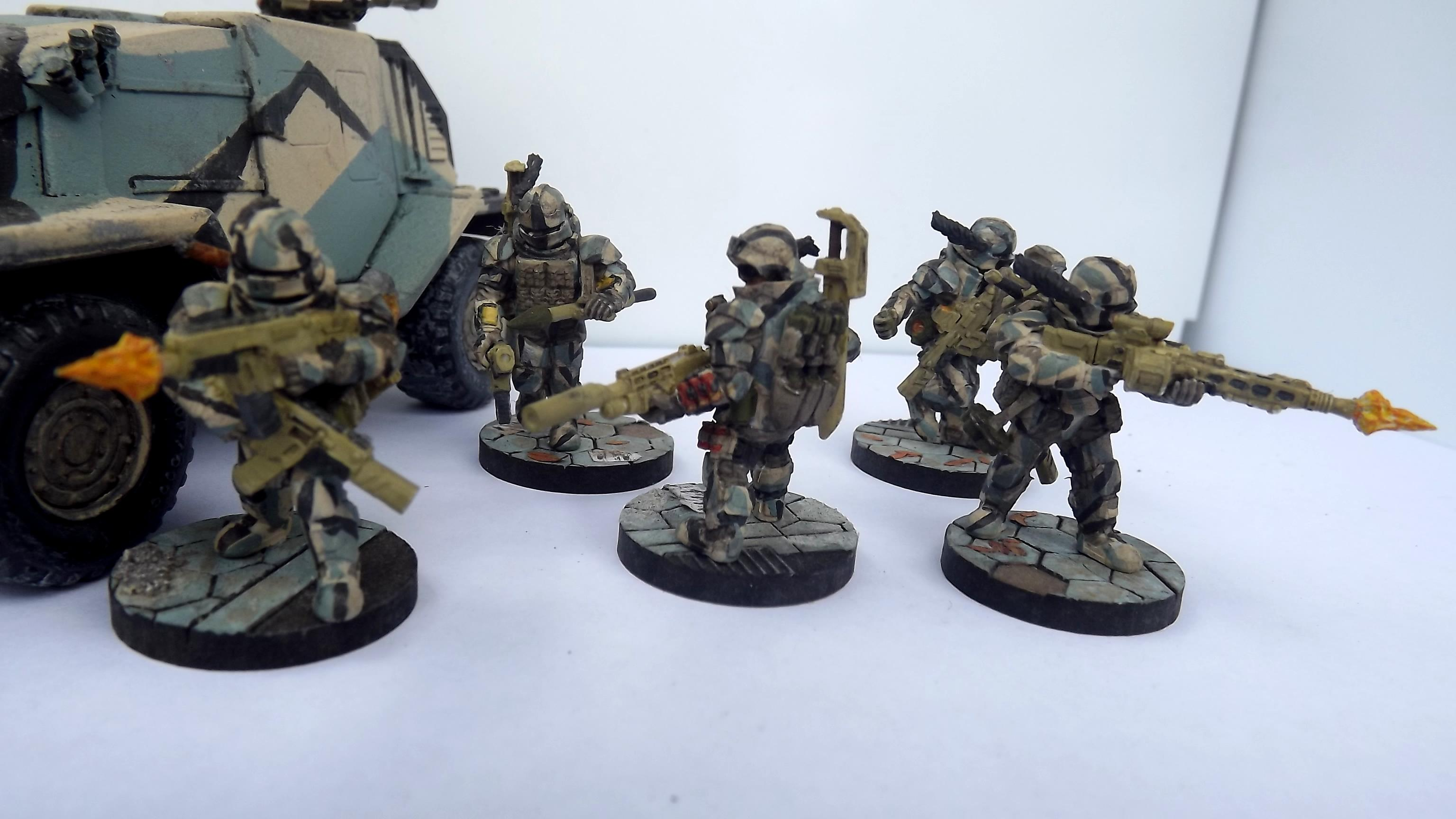 Anvil Industry, Assault Team, Breacher, Carapace Armour, Close Quarters, Commando, Dual Weild, Elite Infantry, Exsplosives, Heavy Infantry, Heavy Stubber, Imperial Guard, Infiltraion, Machinegun, Melee, Mg42, Ordinance, Power Sword, Power Weapon, Rocket Launcher, Rpg7, Shield, Shotgun, Silencer, Special Forces, Specialists, Submachinegun, The Assault Group, Urban, Urban Camoflague, Weapons Specialist