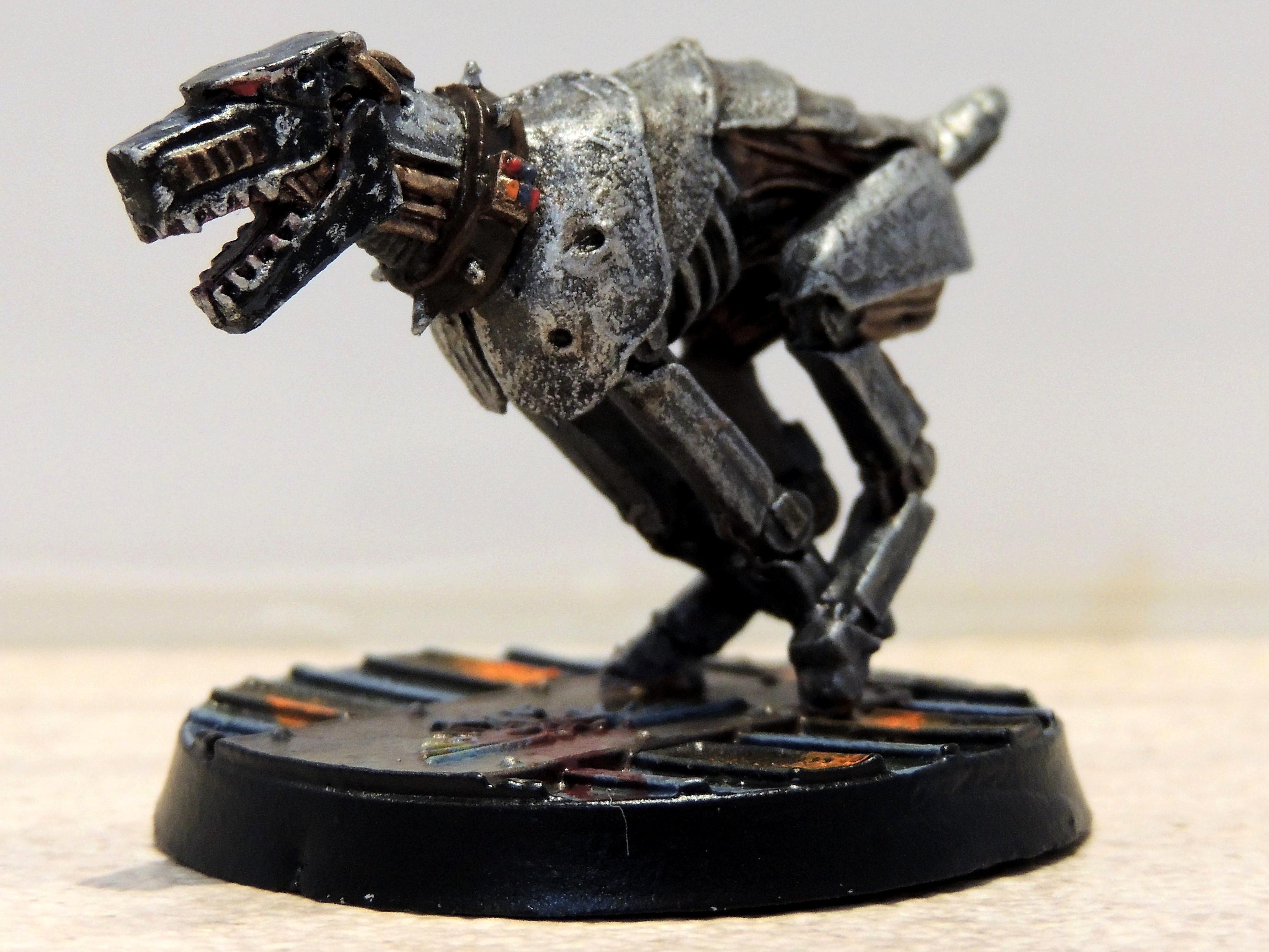 54mm, Adeptus Arbites, Cyber-mastiff, Enforcer, Inquisitor