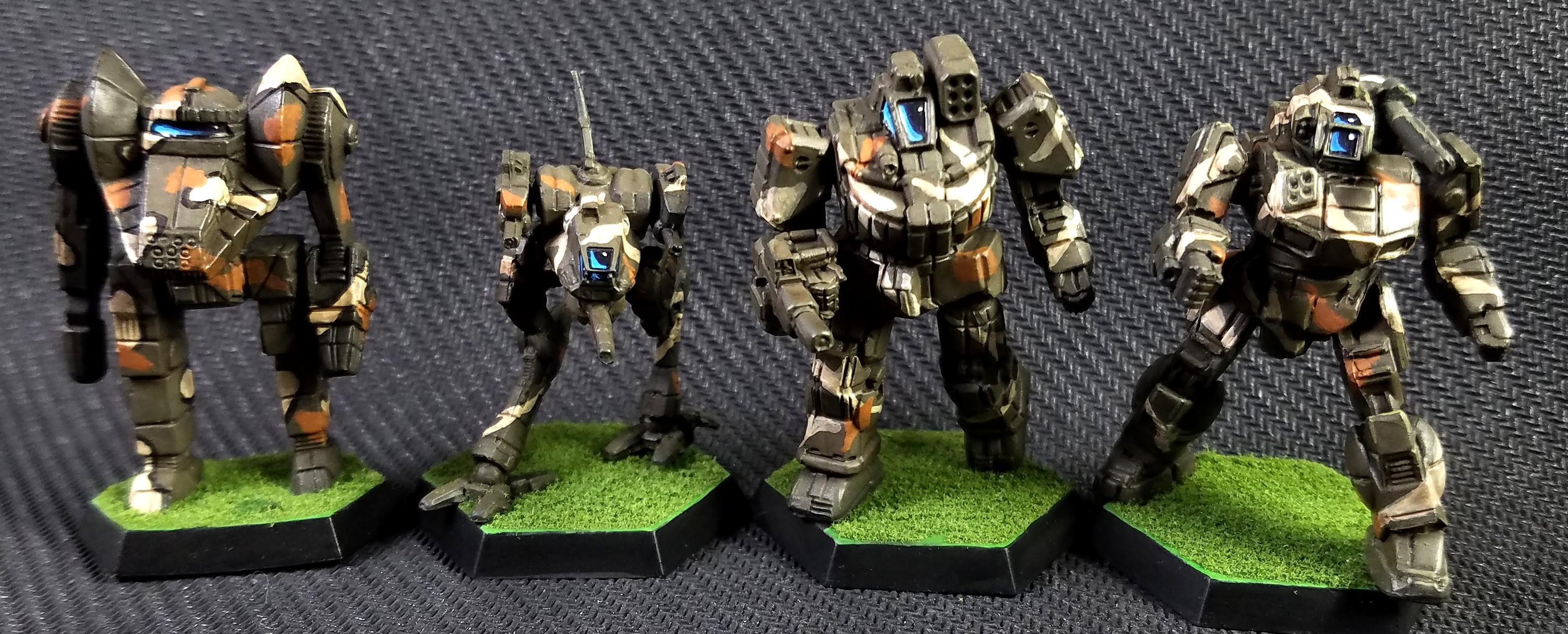 Battlemech, Battletech, Dragon, Locust, Mech, Shadow Hawk, Wolverine