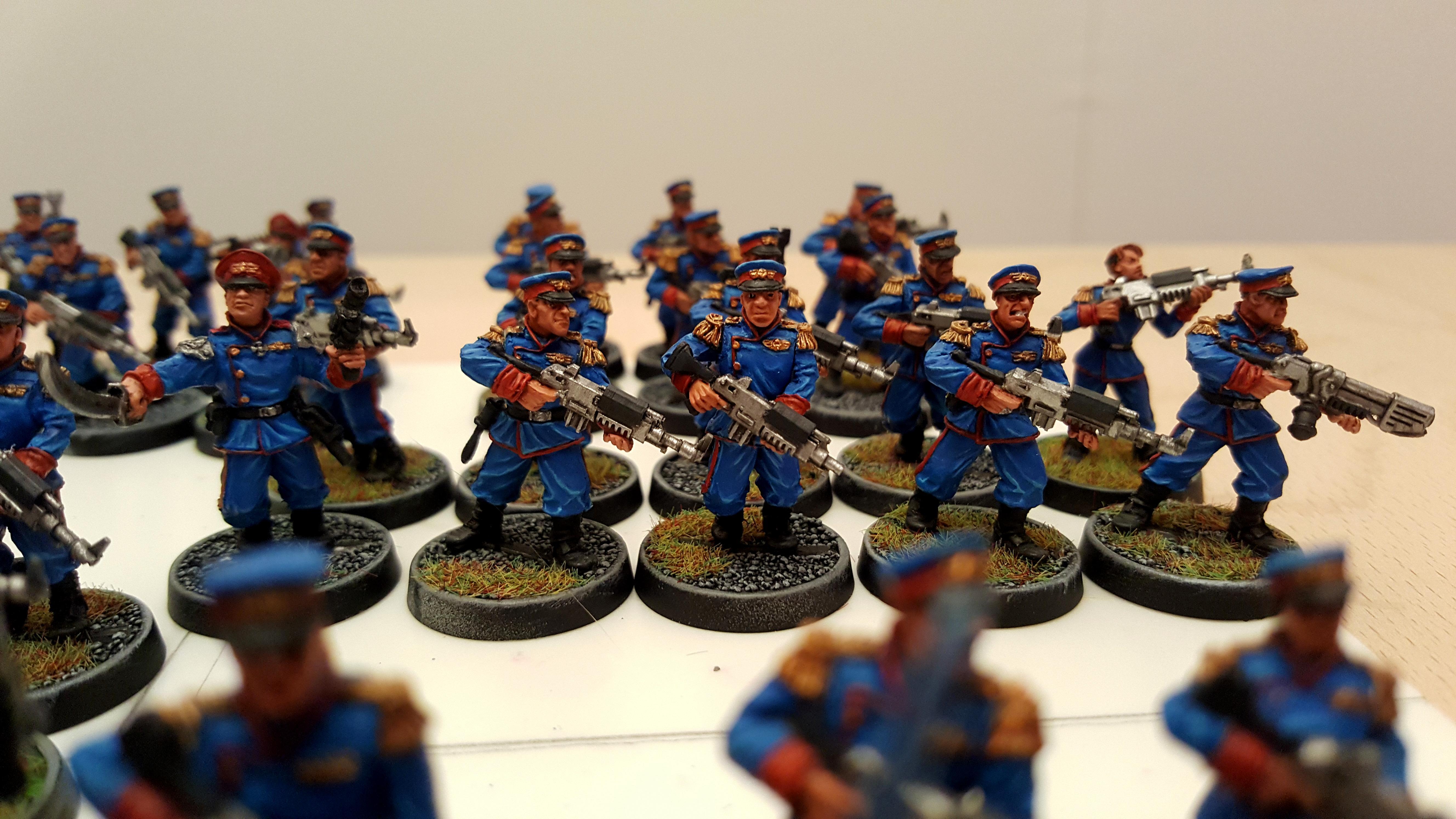 Astra Militarium, Imperial Guard, Iron Guard, Mordian, Tannenburg Fusiliers, Victoria Miniatures
