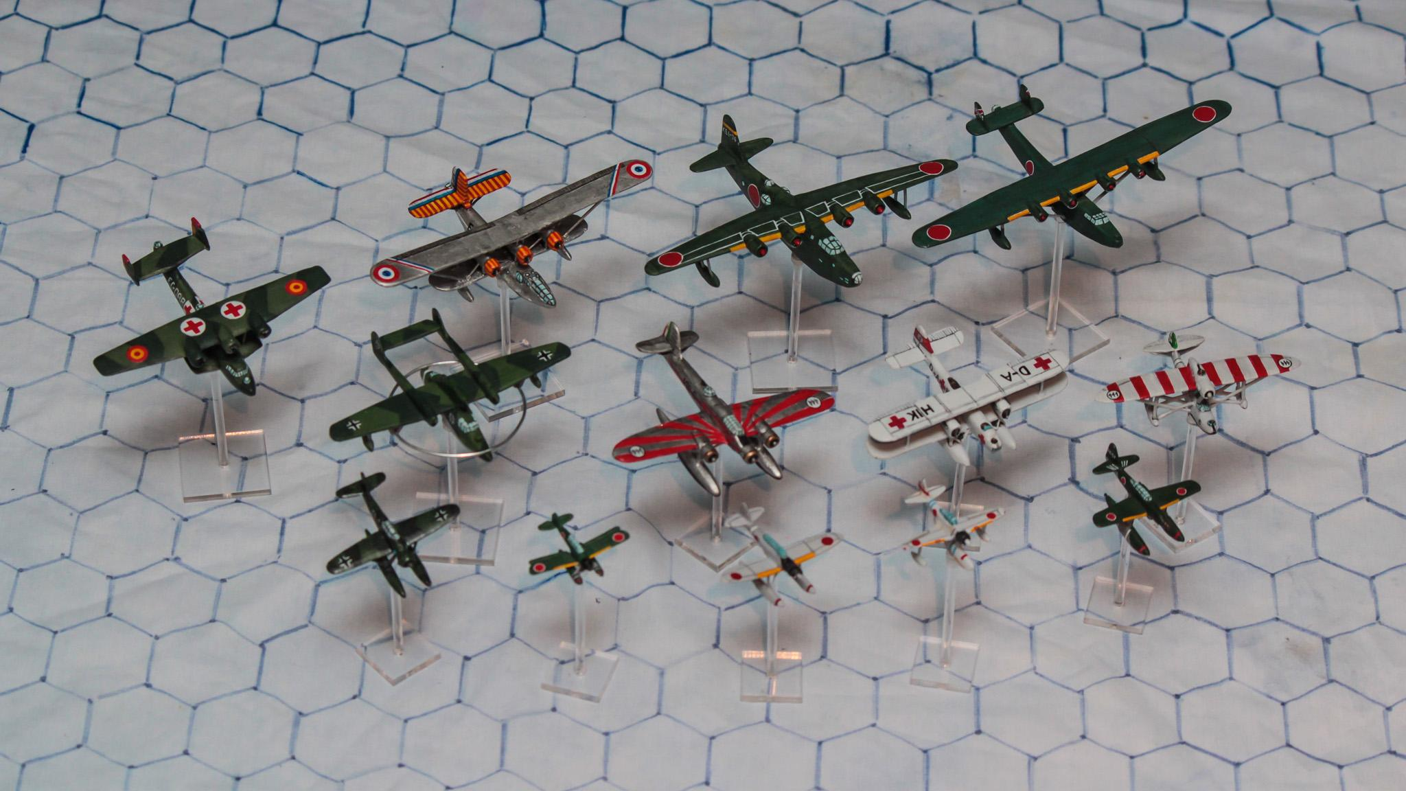 1:300 Scale, 6mm Scale, Air Combat, Axis, Float Plane, Flying Boat, French, Germans, Imperial Japan, Italian, Luftwaffe, Seaplane, World War 2