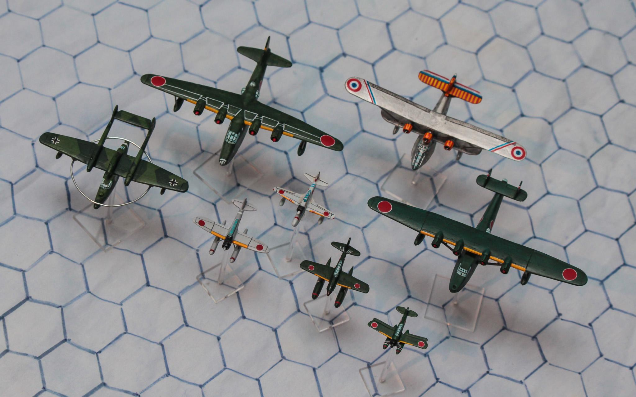 1:300 Scale, 6mm Scale, Air Combat, Axis, Flying Boat, French, Germans, Imperial Japan, Luftwaffe, Seaplane, World War 2