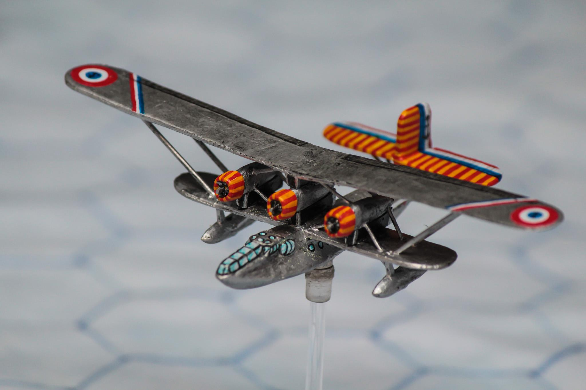 1:300 Scale, 6mm Scale, Air Combat, Bomber, French, World War 2