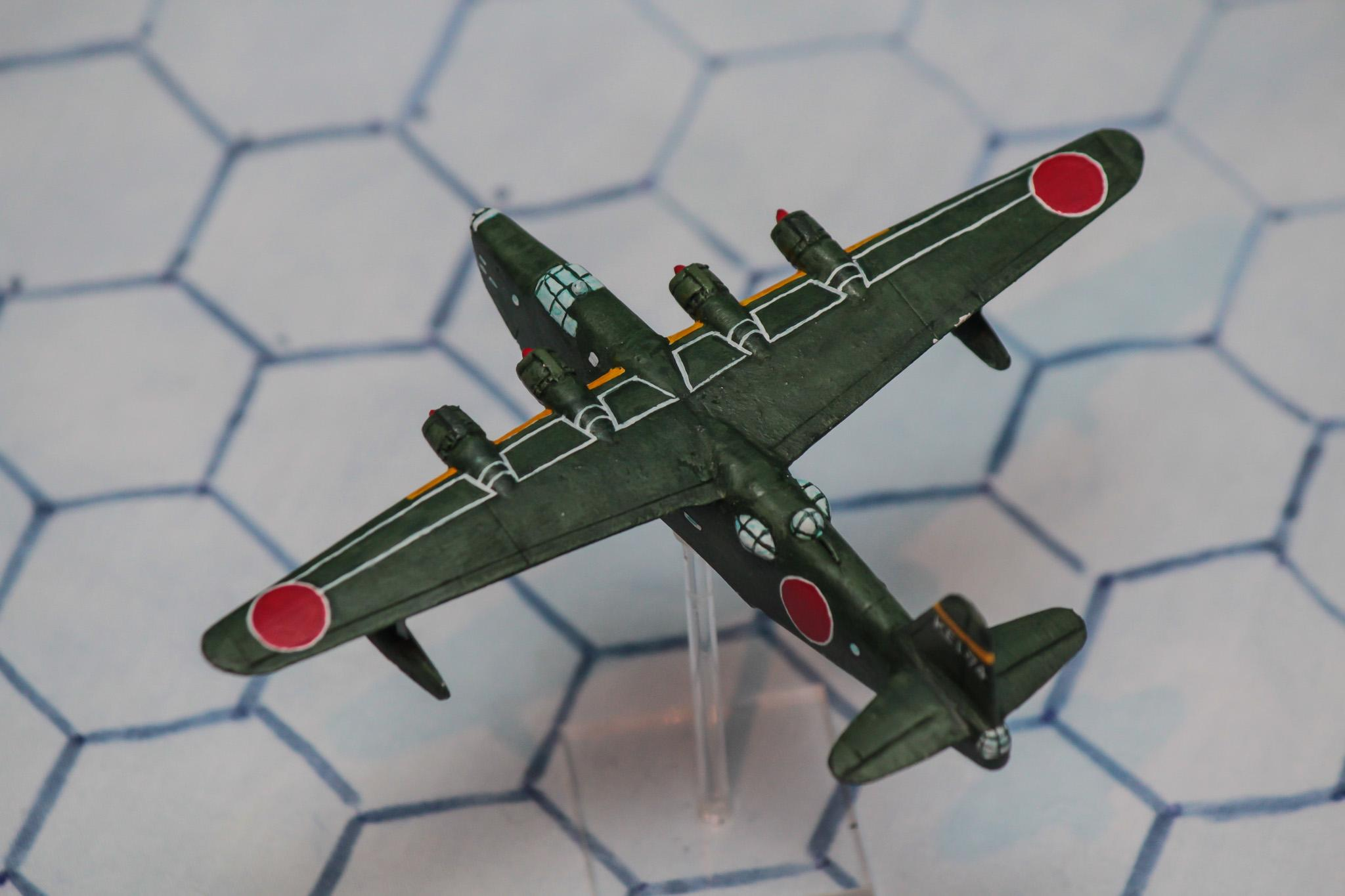 1:300 Scale, 6mm Scale, Air Combat, Bomber, Imperial Japan, Japanese, World War 2
