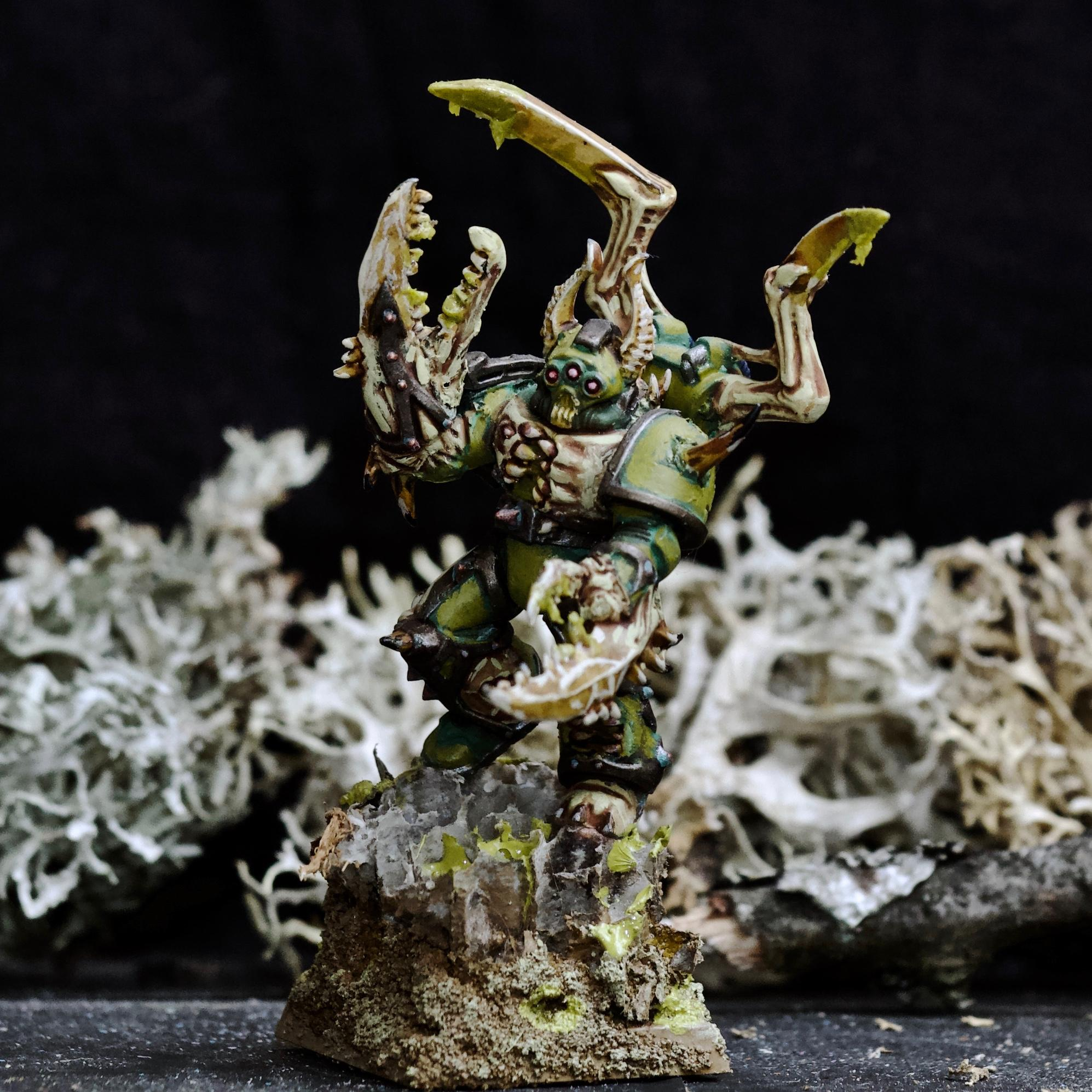 Awesome Photos, Blight, By Andrey Mishuta, Chaos, Chaos Space Marines, Claw, Conversion, Death Guard, Decay, Heretic Astartes, M.a.k., Nurgle, Plague Marines, Possessed, Slime, Spikes, Warhammer 40,000