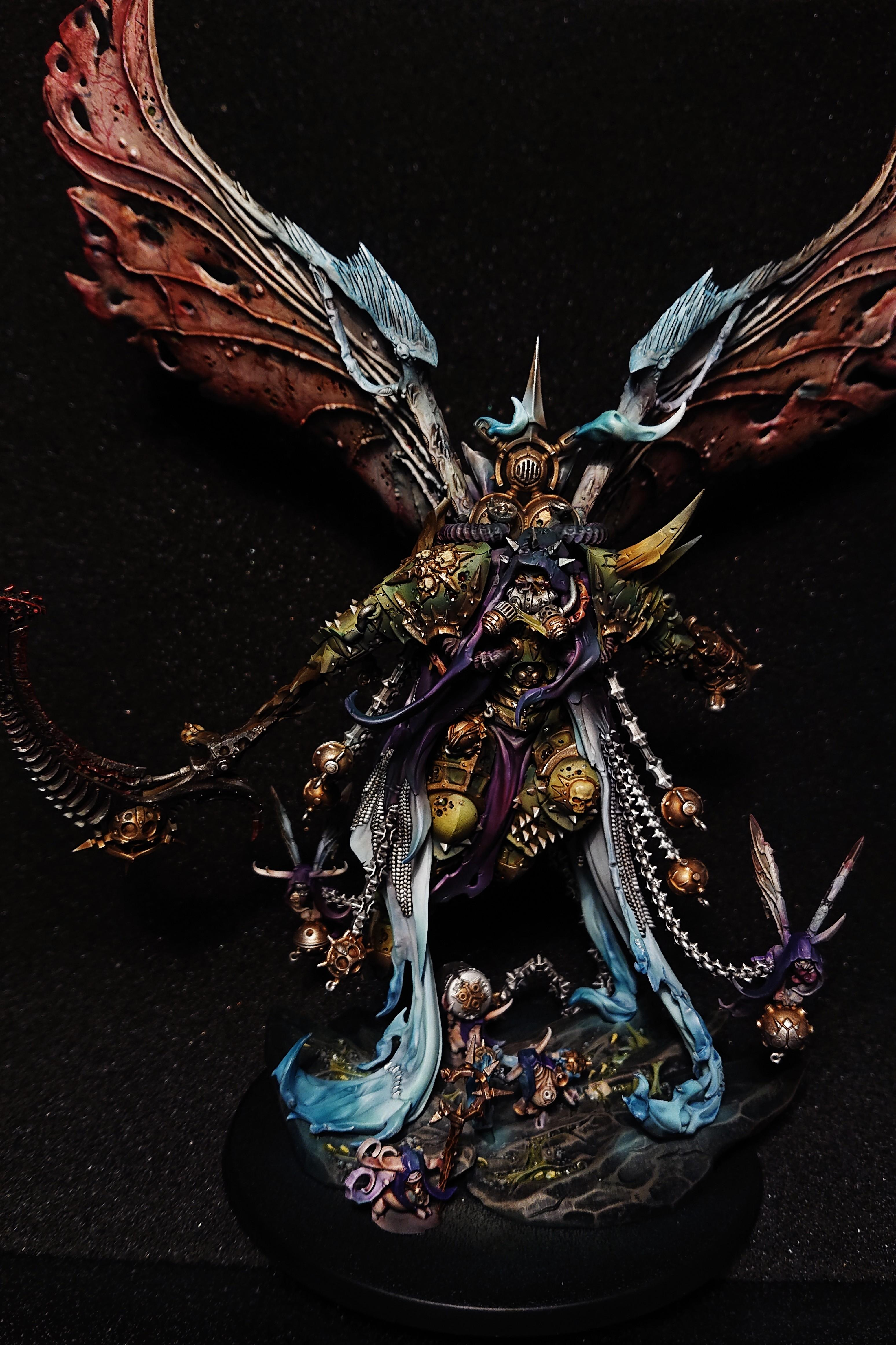 Angel, Chaos, Daemons, Death Guard, Mortarion, Nurgle, Primark, Winged